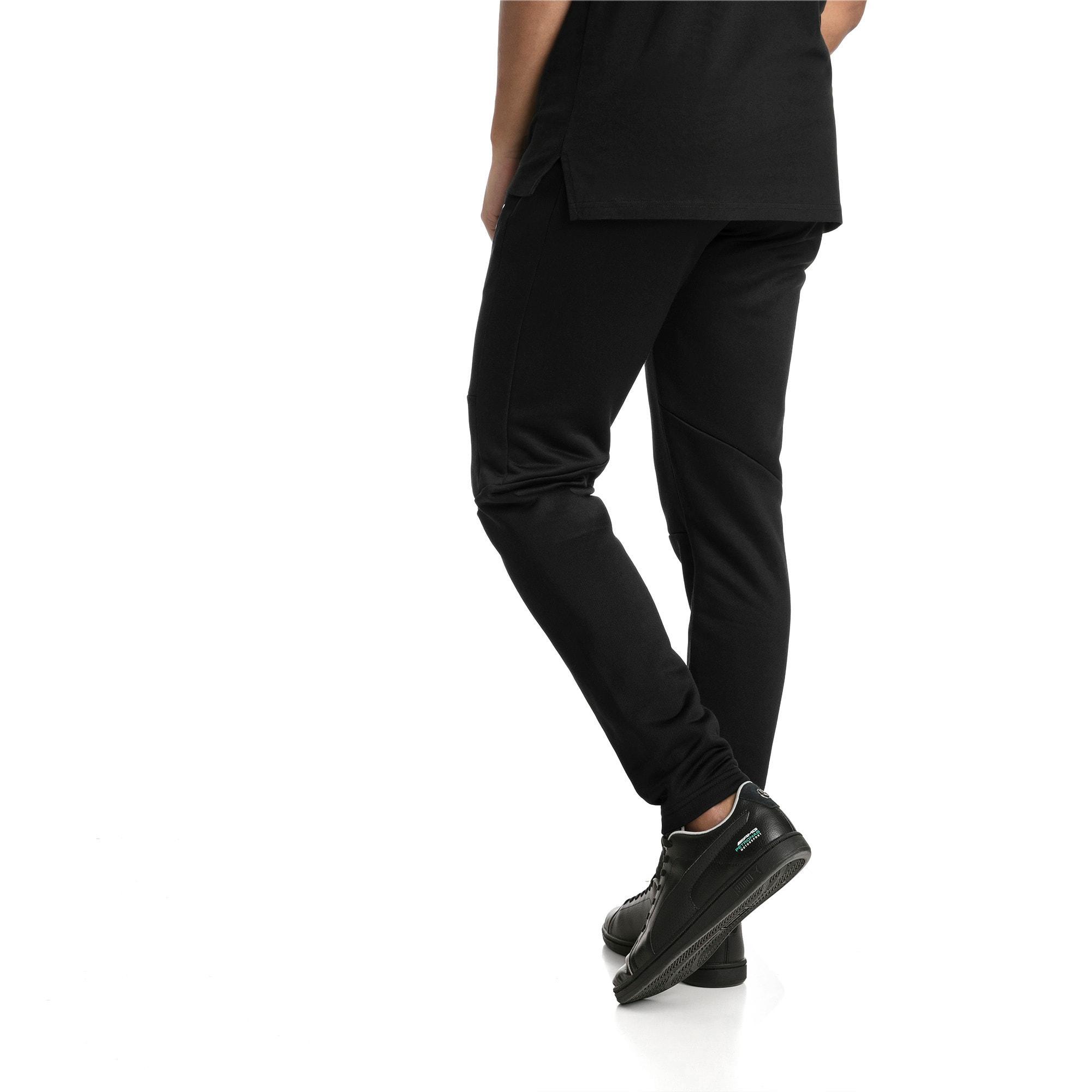 Thumbnail 3 of MERCEDES AMG PETRONAS Men's T7 Track Pants, Puma Black, medium-IND