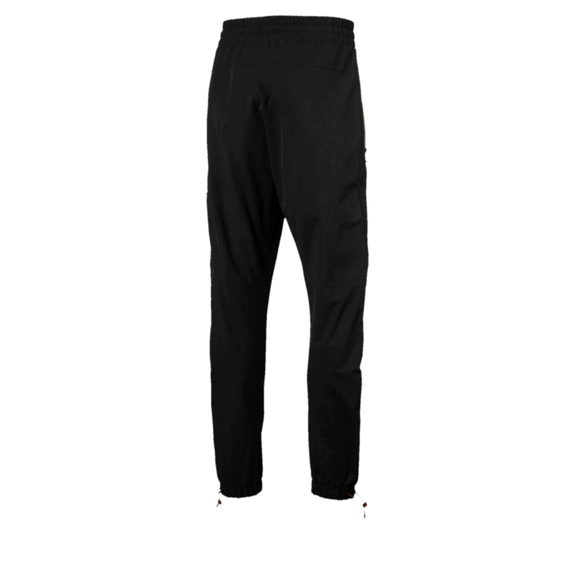 Thumbnail 2 of Ferrari SFXX Lifestyle Men's Woven Pants, Puma Black, medium-IND