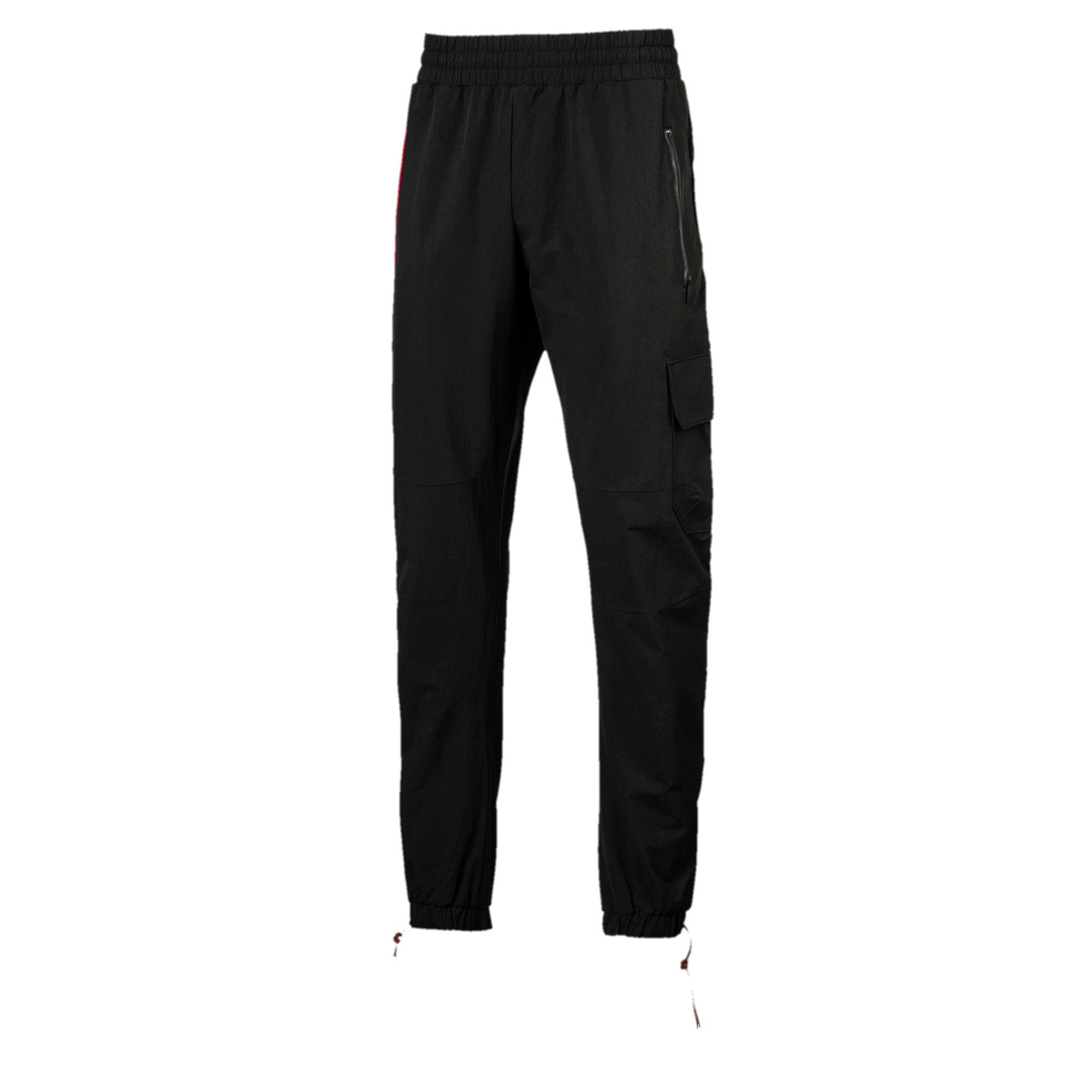 Thumbnail 1 of Ferrari SFXX Lifestyle Men's Woven Pants, Puma Black, medium-IND