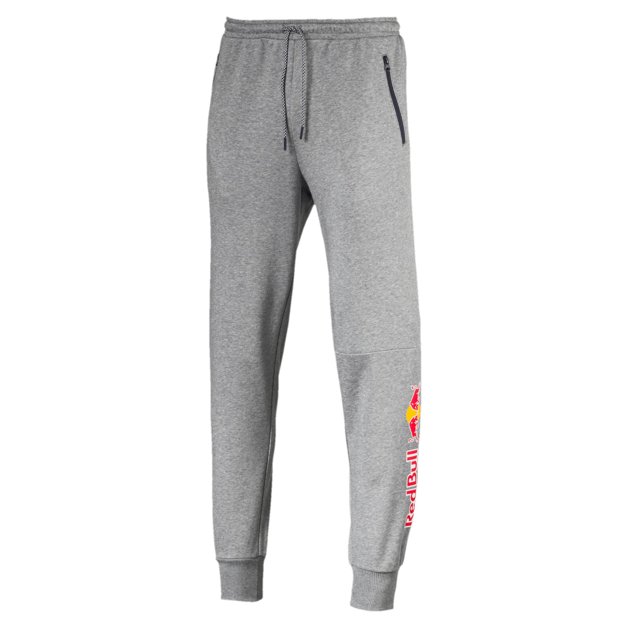 Thumbnail 4 of Red Bull Racing Men's Sweat Pants, Medium Gray Heather, medium-IND