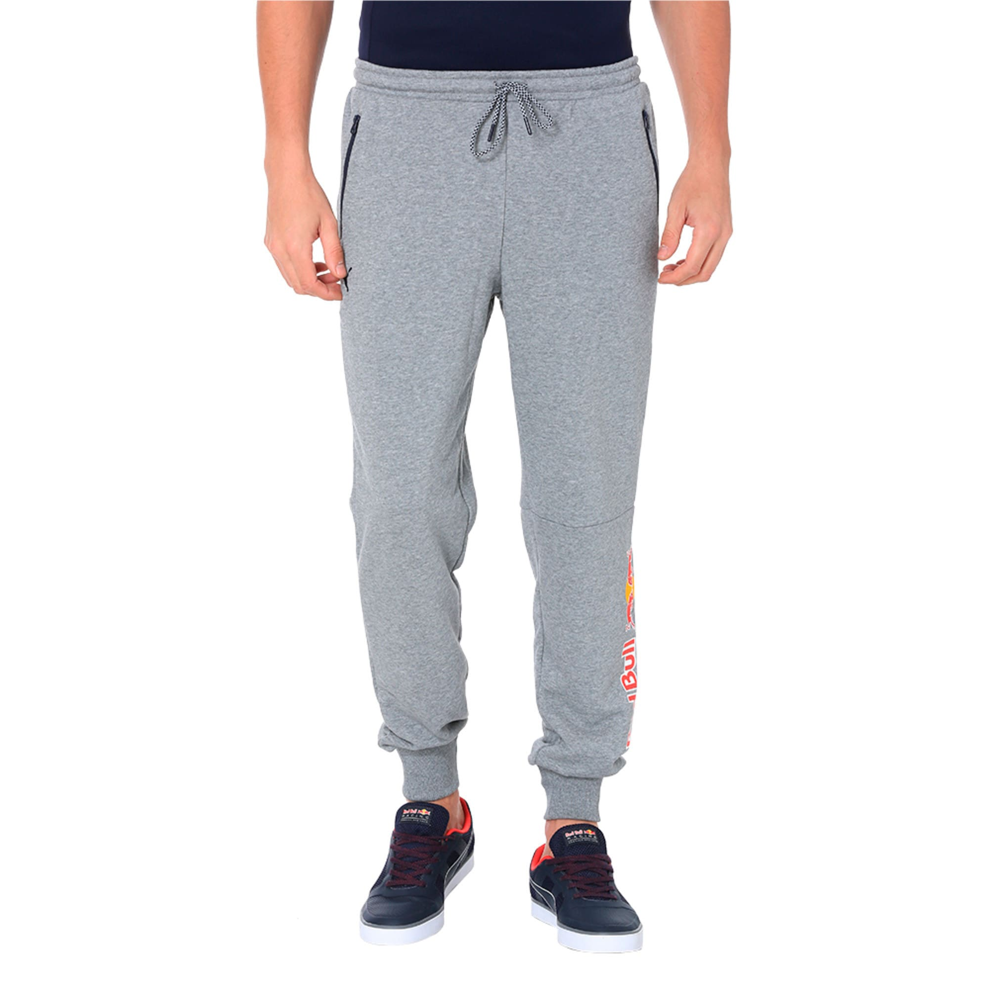 Thumbnail 1 of Red Bull Racing Men's Sweat Pants, Medium Gray Heather, medium-IND