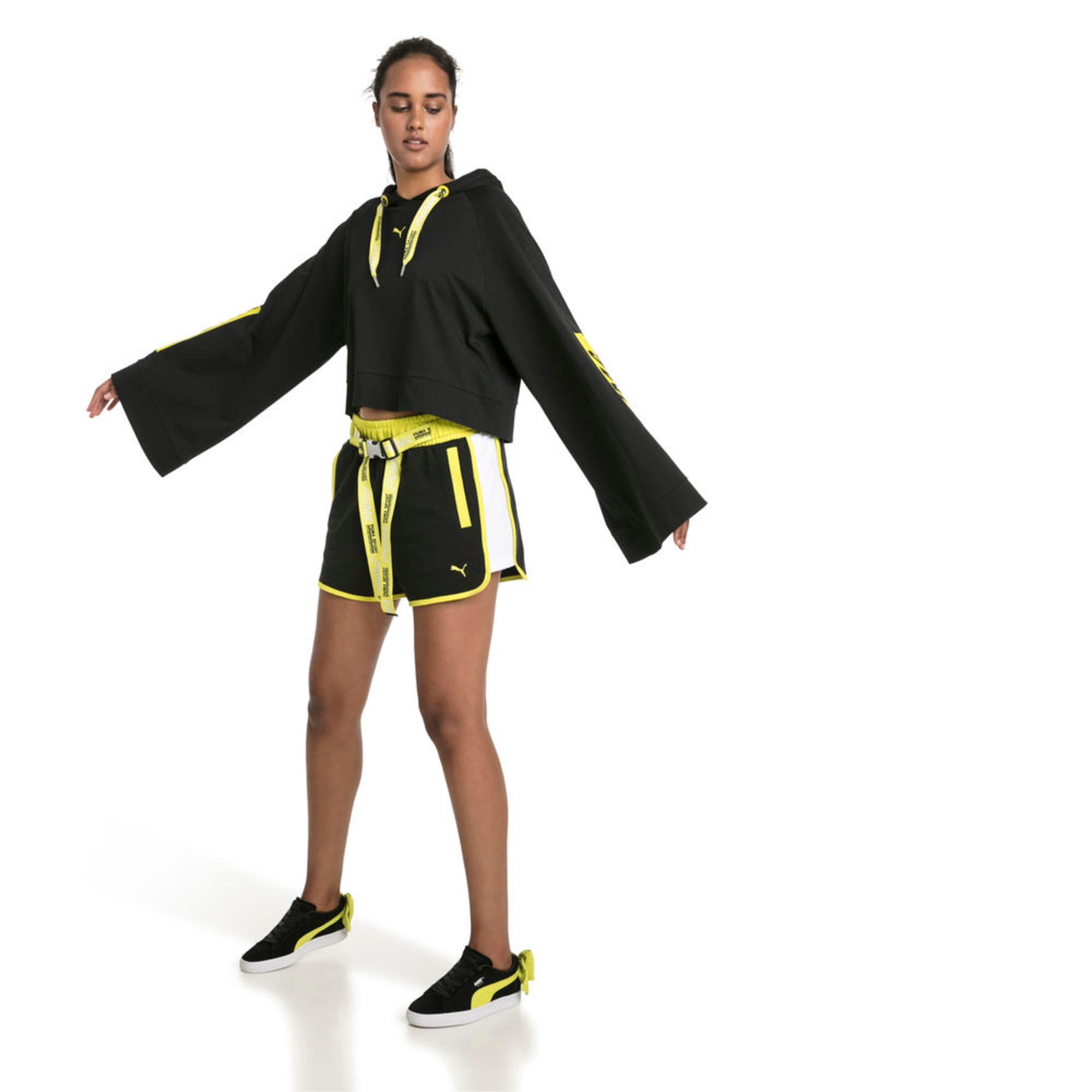 Thumbnail 3 of Archive Women's Xtreme Tape Highwaist Shorts, Cotton Black, medium-IND