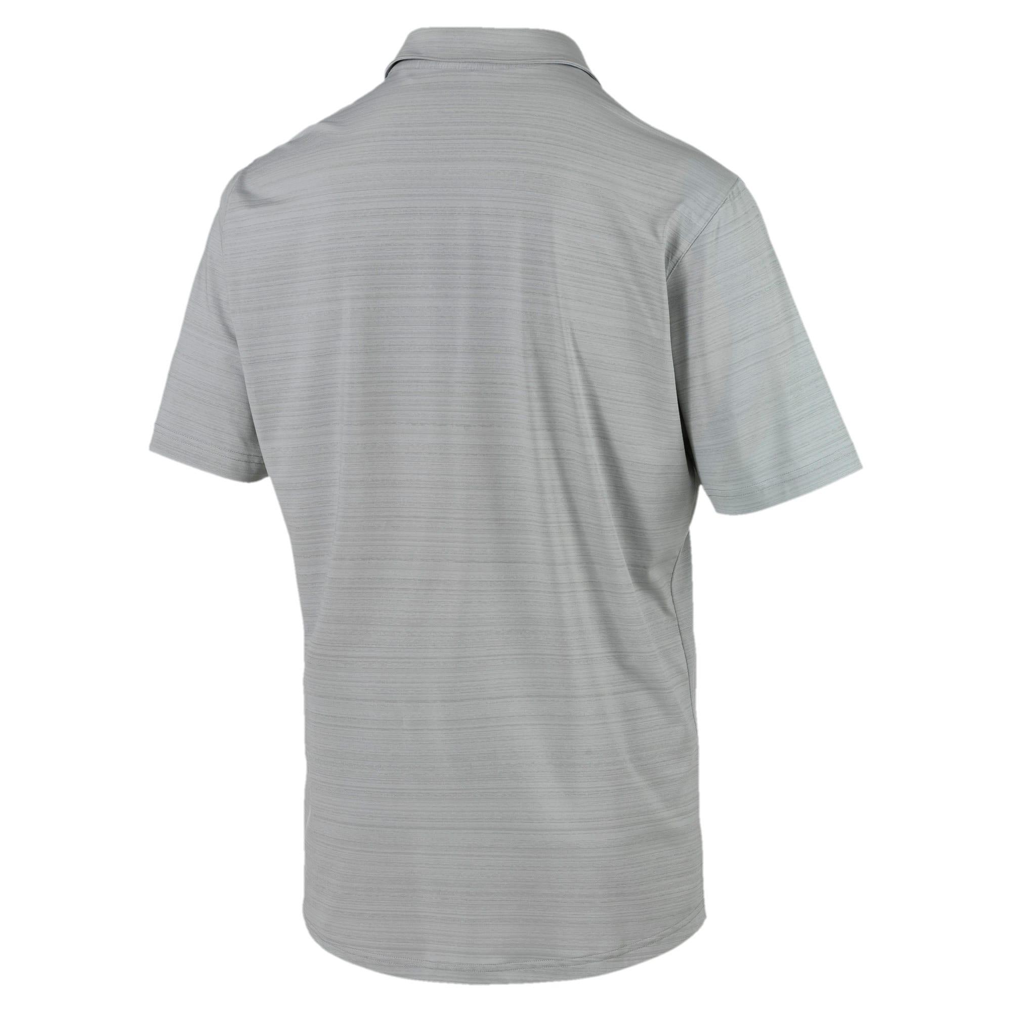 Thumbnail 5 of Breezer Short Sleeve Men's Golf Shirt, Quarry, medium
