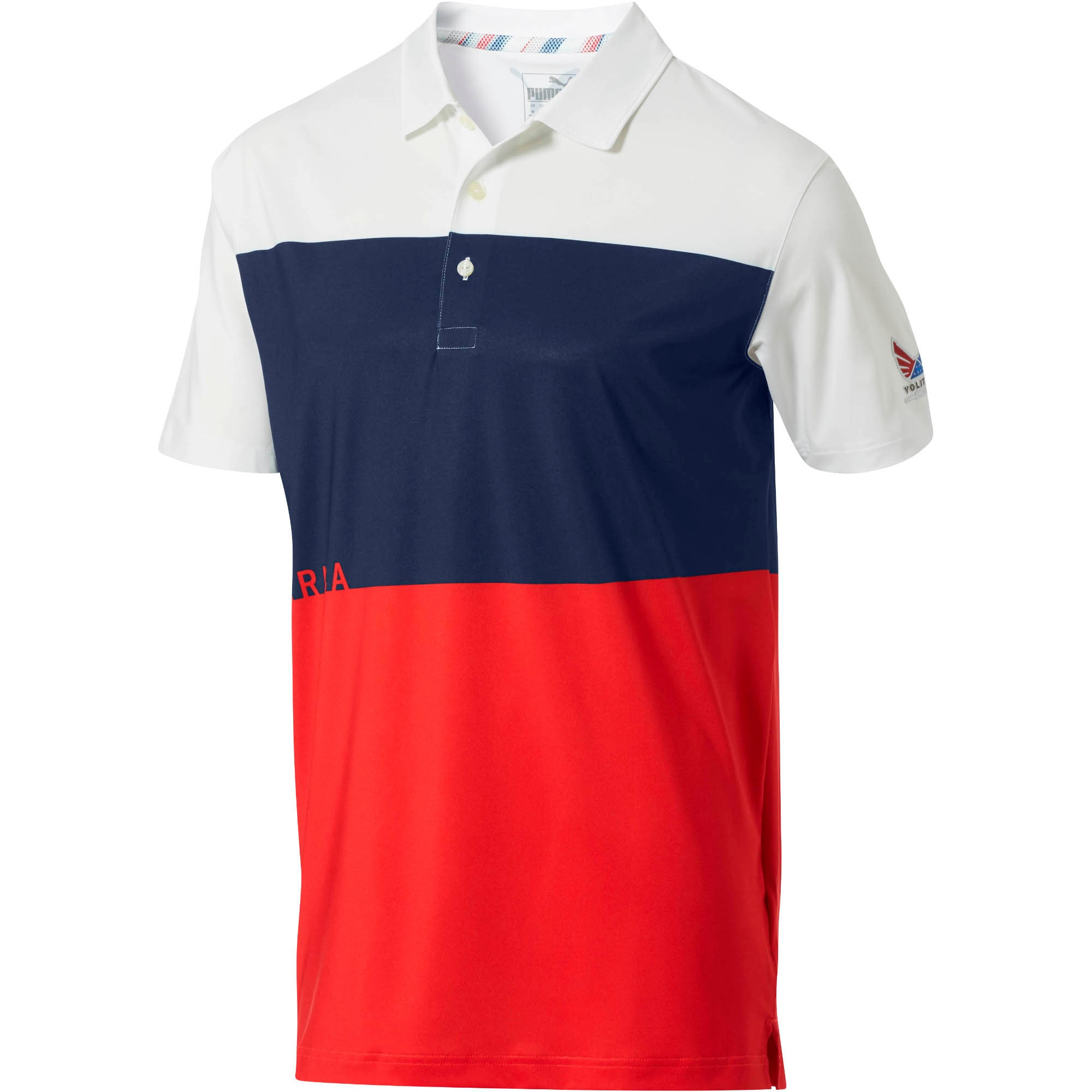 Thumbnail 1 of Volition Ck6 America Polo, High Risk Red, medium