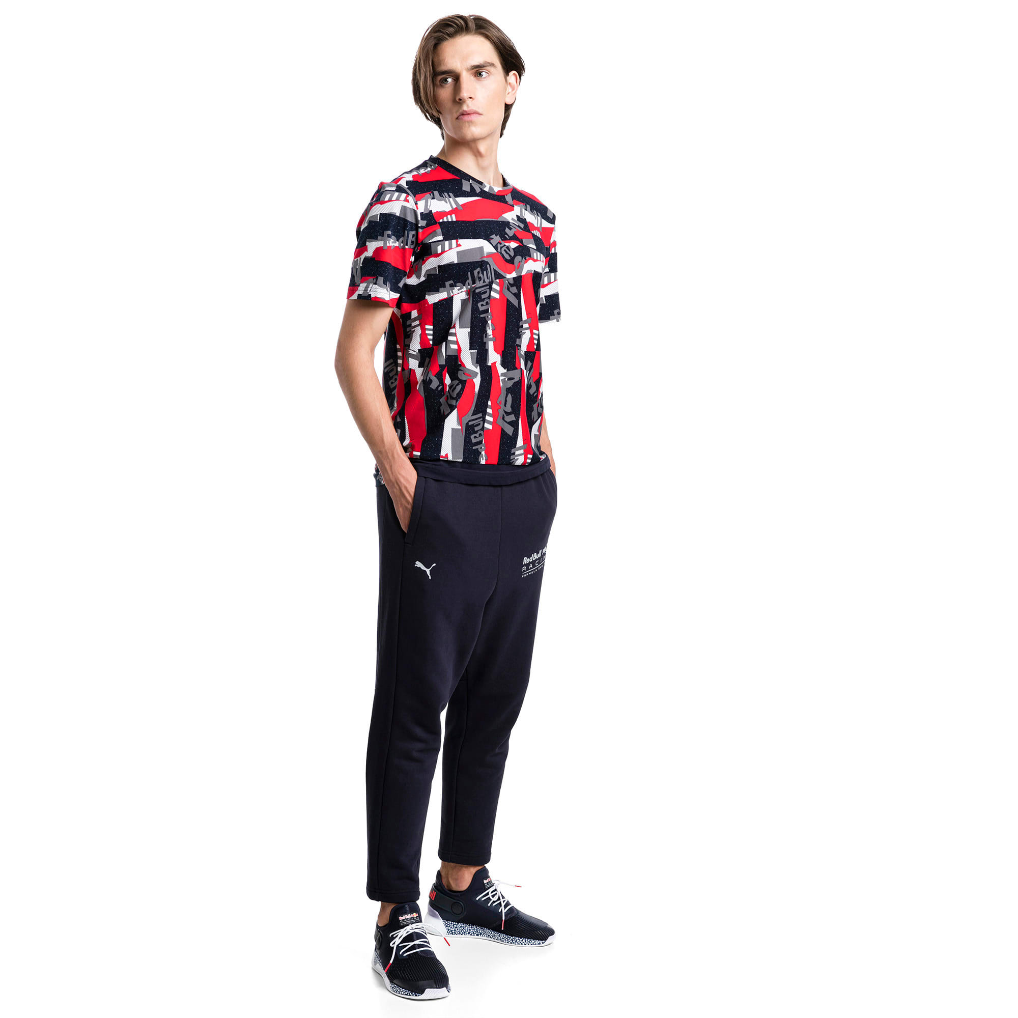 Thumbnail 3 of Red Bull Racing Lifestyle All-Over Printed Men's Tee, Chinese Red, medium