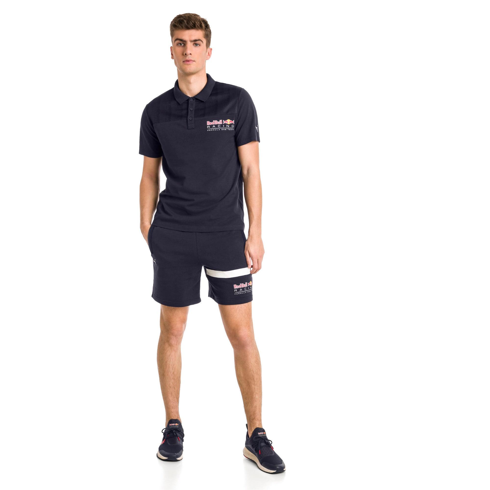 Thumbnail 2 of Red Bull Racing Logo Men's Sweat Shorts, NIGHT SKY, medium-IND