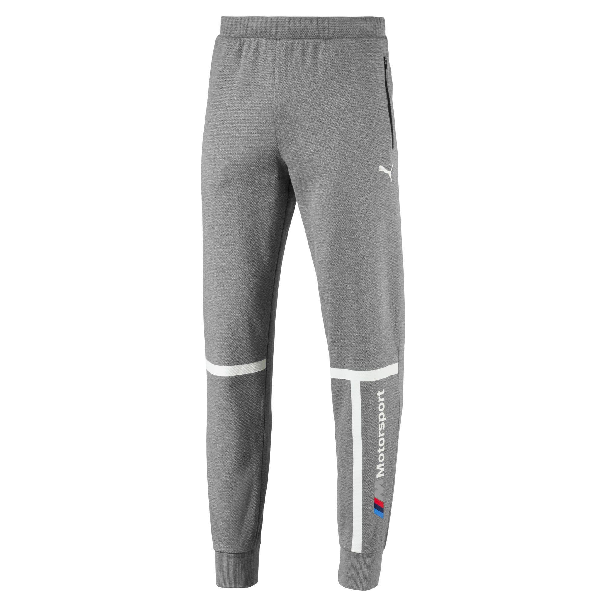 Thumbnail 4 of BMW Motorsport Knitted Men's Sweatpants, Medium Gray Heather, medium-IND