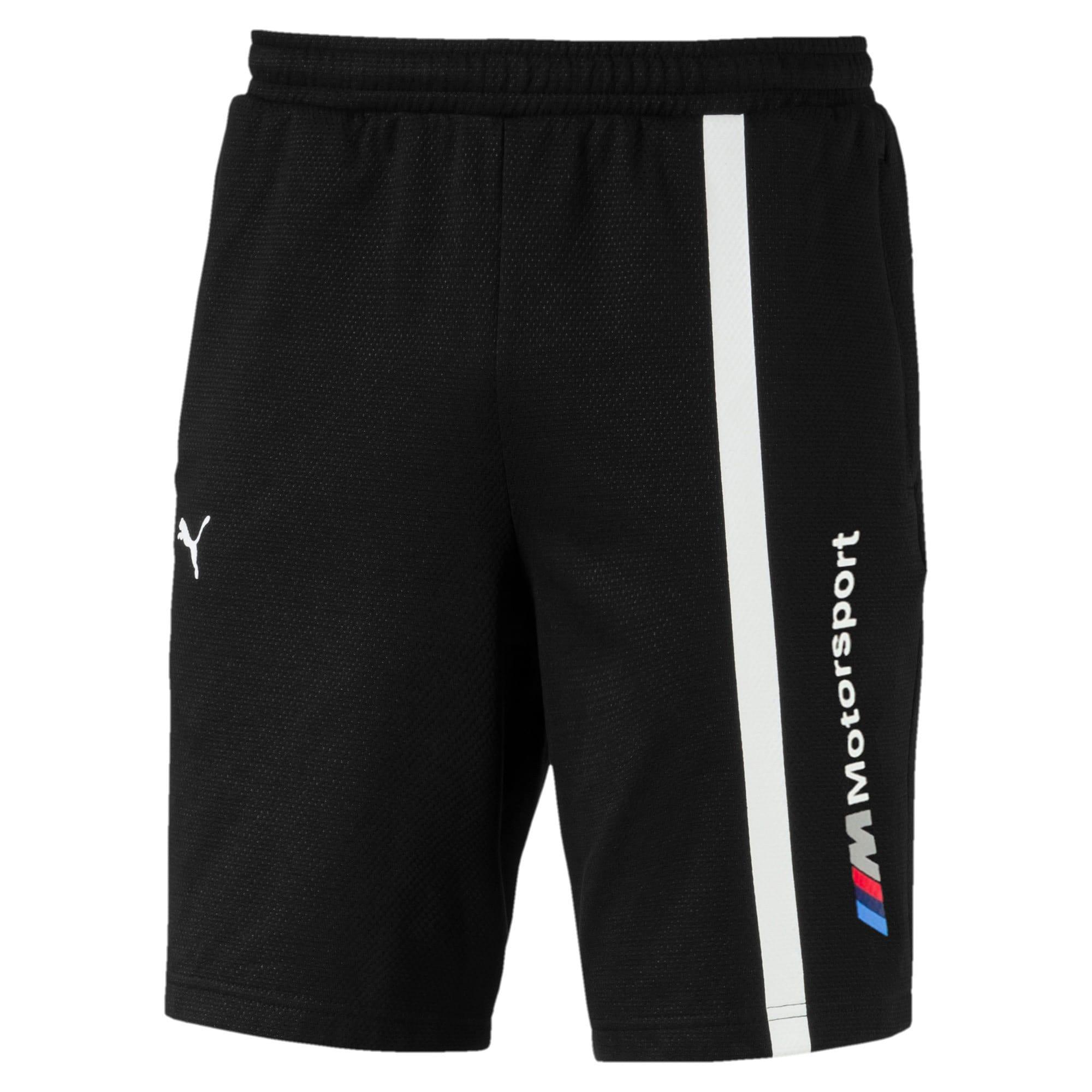 Thumbnail 4 of BMW Motorsport Men's Sweat Shorts, Puma Black, medium