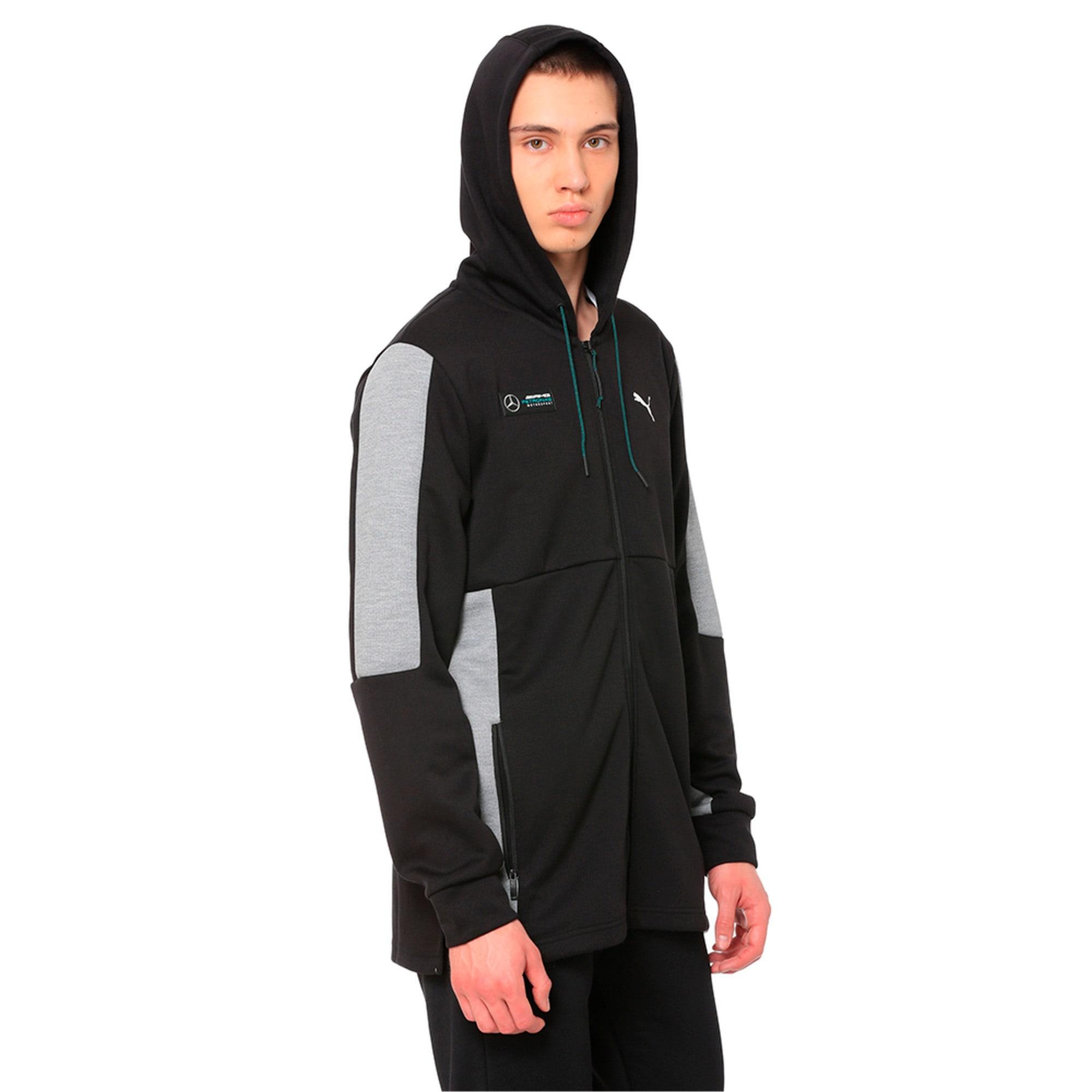 Thumbnail 1 of Mercedes AMG Petronas Motorsport Men's Sweat Jacket, Puma Black, medium-IND