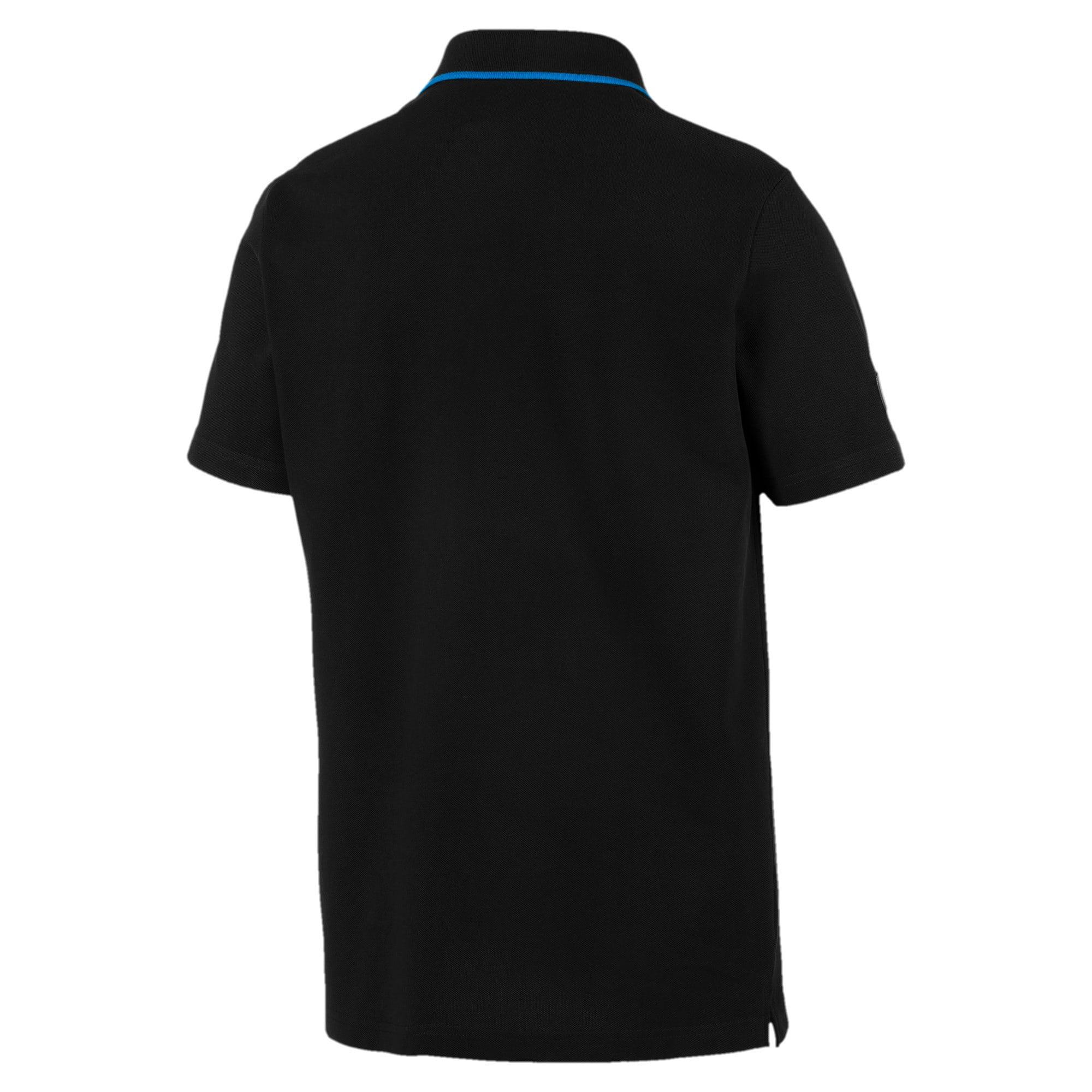 Thumbnail 4 of MERCEDES AMG PETRONAS Men's Polo Shirt, Puma Black, medium-IND