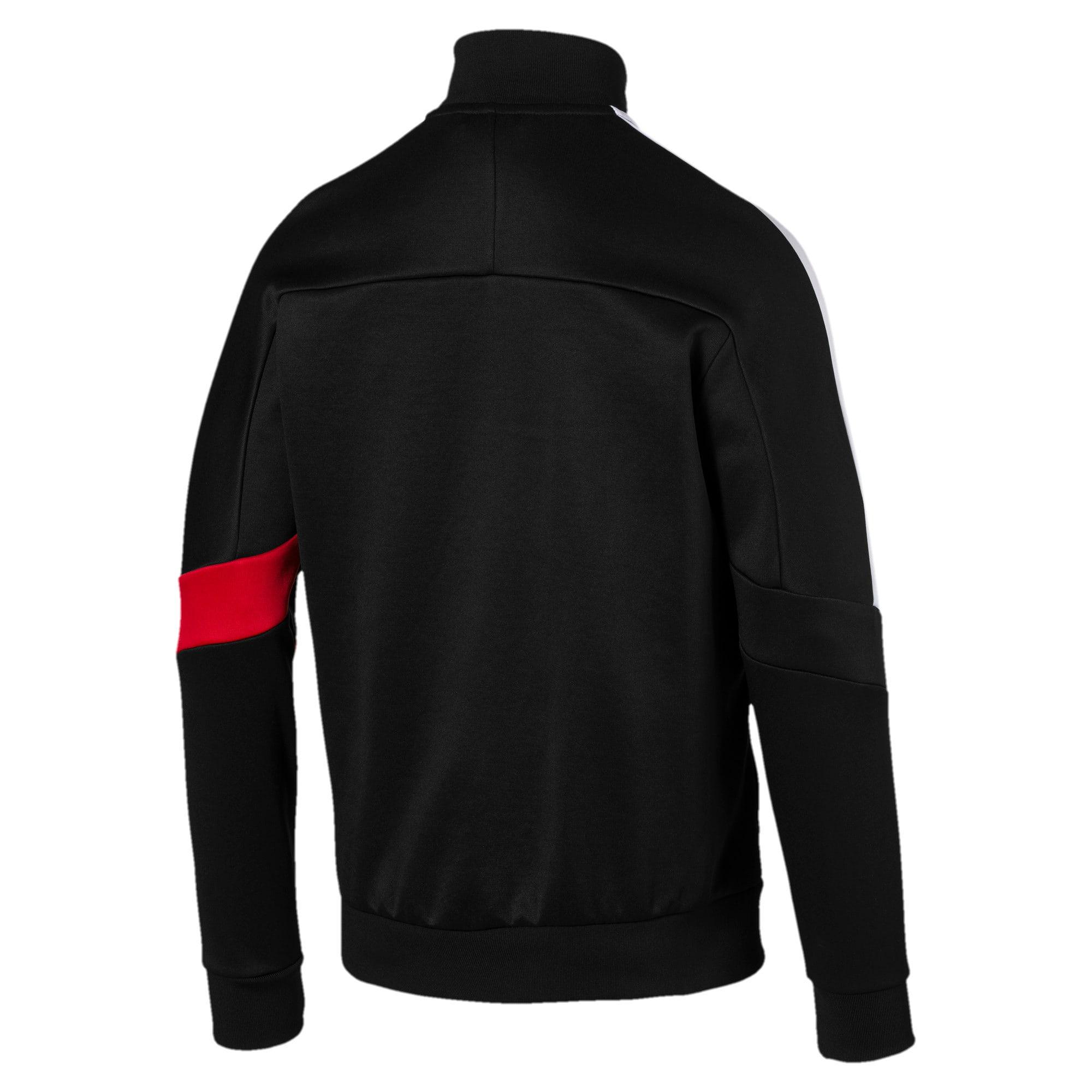 Thumbnail 3 of Scuderia Ferrari Men's T7 Track Jacket, Puma Black, medium