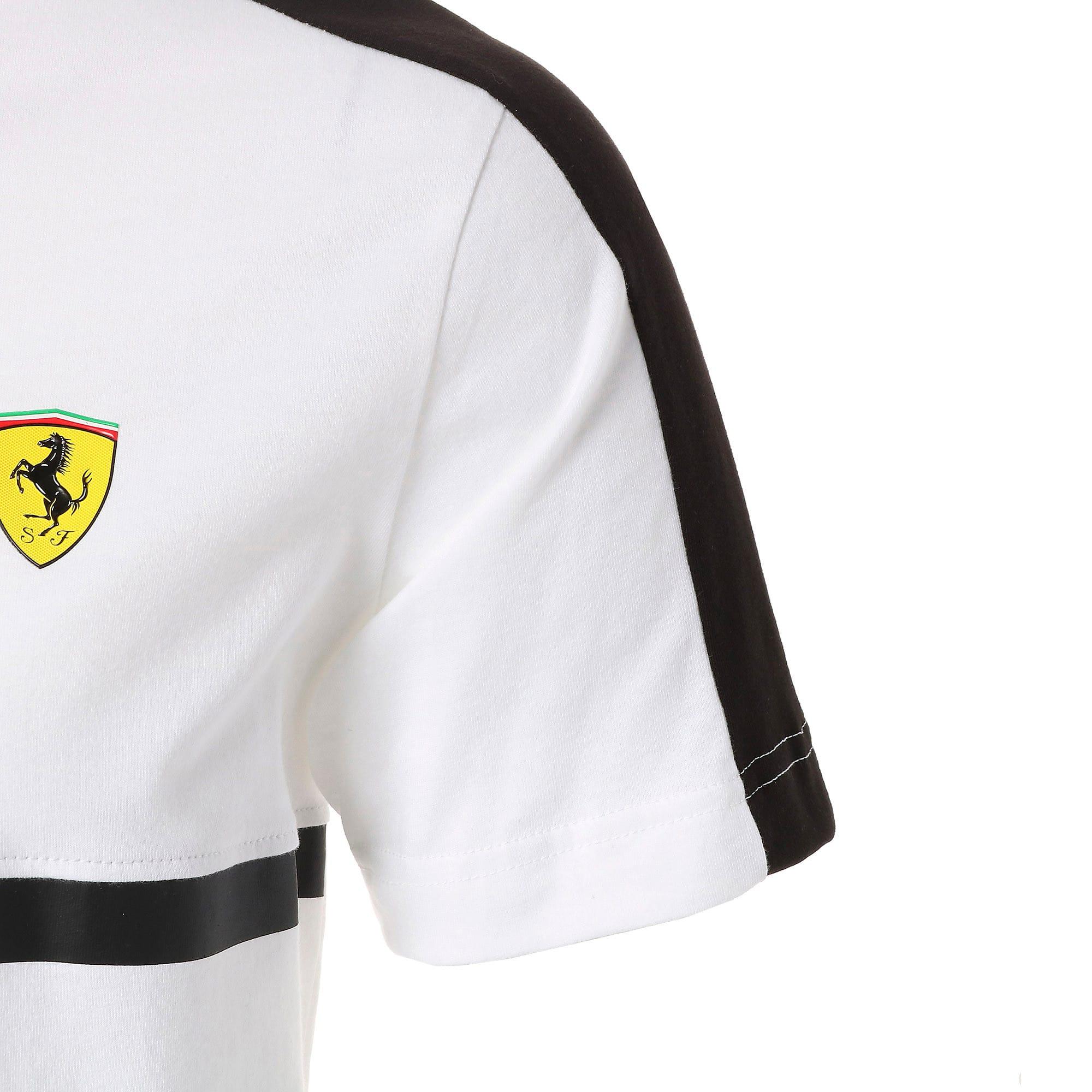 Thumbnail 4 of フェラーリ T7 Tシャツ, Puma White, medium-JPN