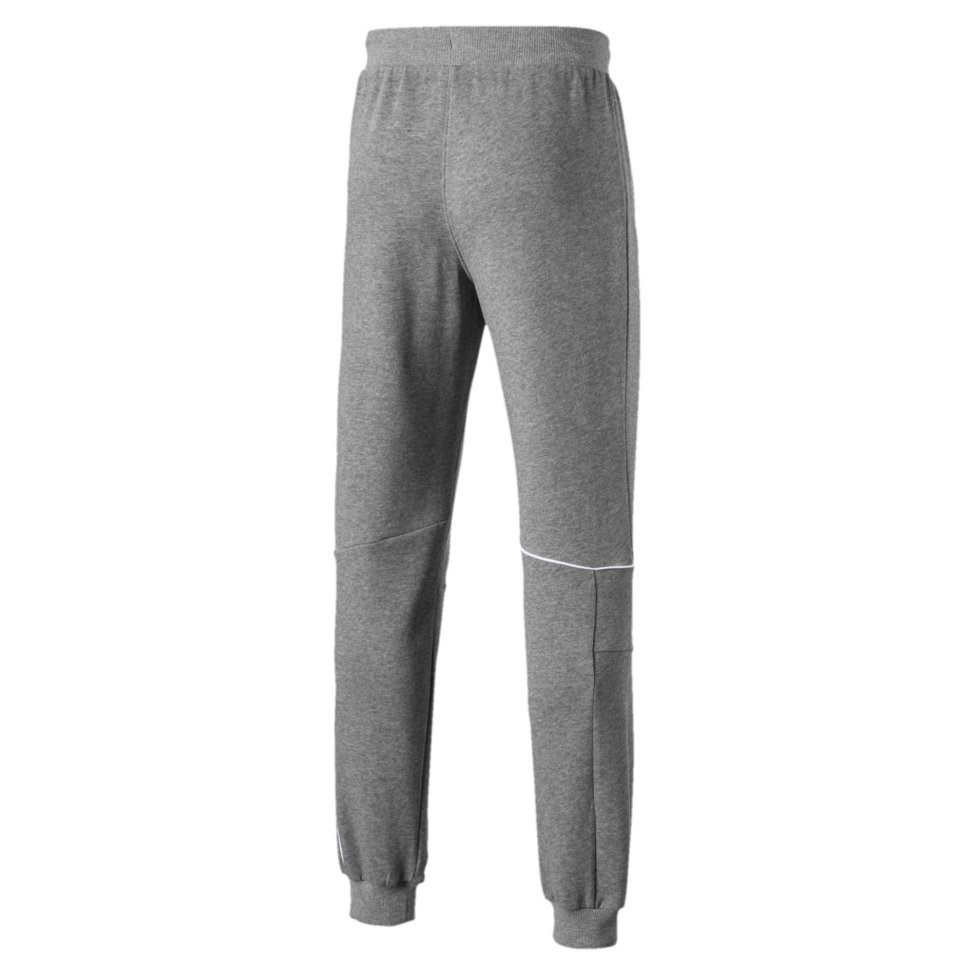 Thumbnail 5 of Ferrari Knitted Men's Sweatpants, Medium Gray Heather, medium-IND