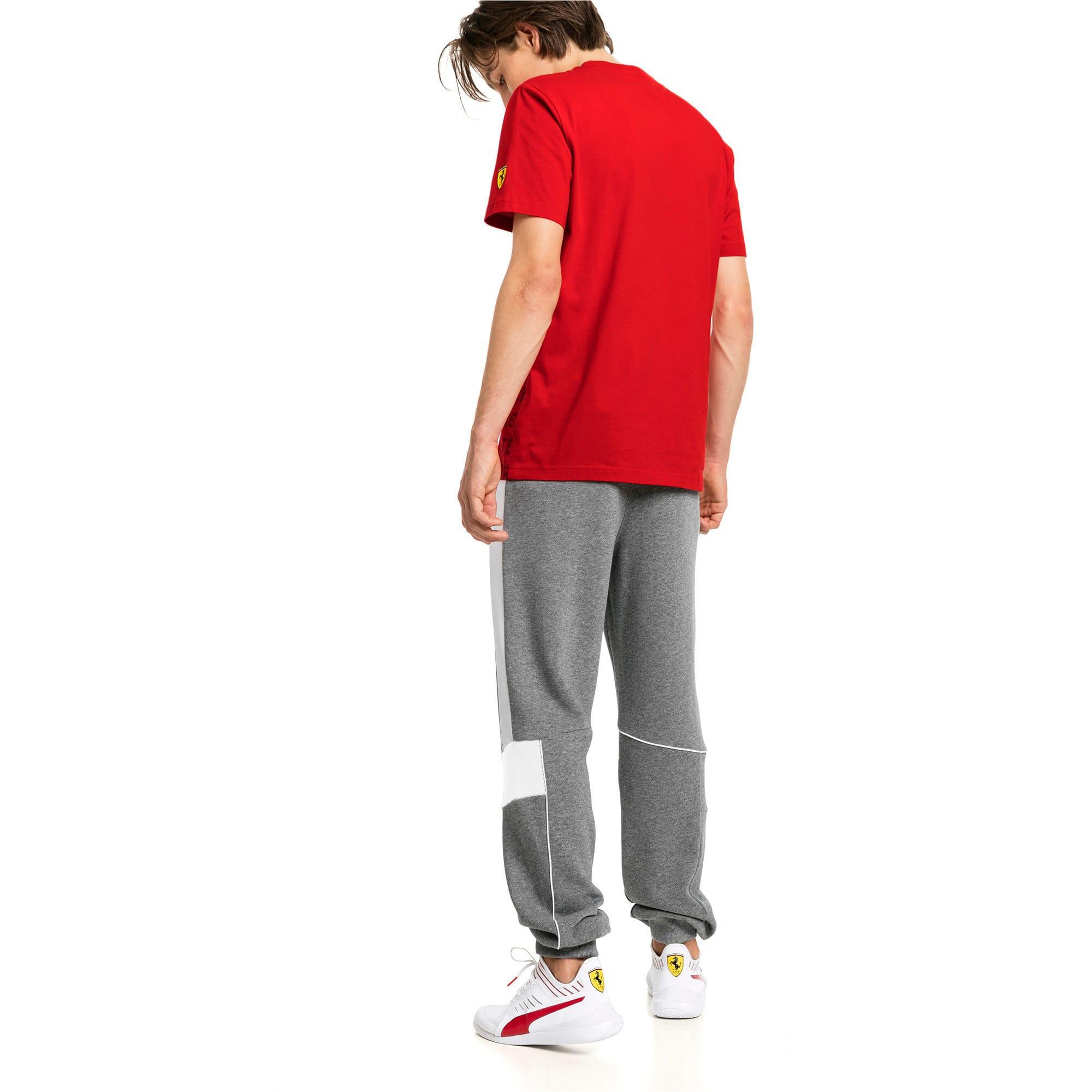 Thumbnail 2 of Ferrari Knitted Men's Sweatpants, Medium Gray Heather, medium-IND