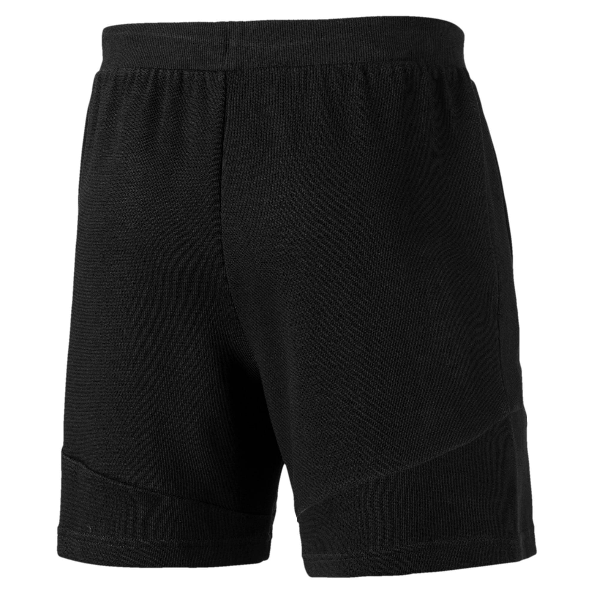 Thumbnail 3 of Ferrari Men's Sweat Shorts, Puma Black, medium-IND