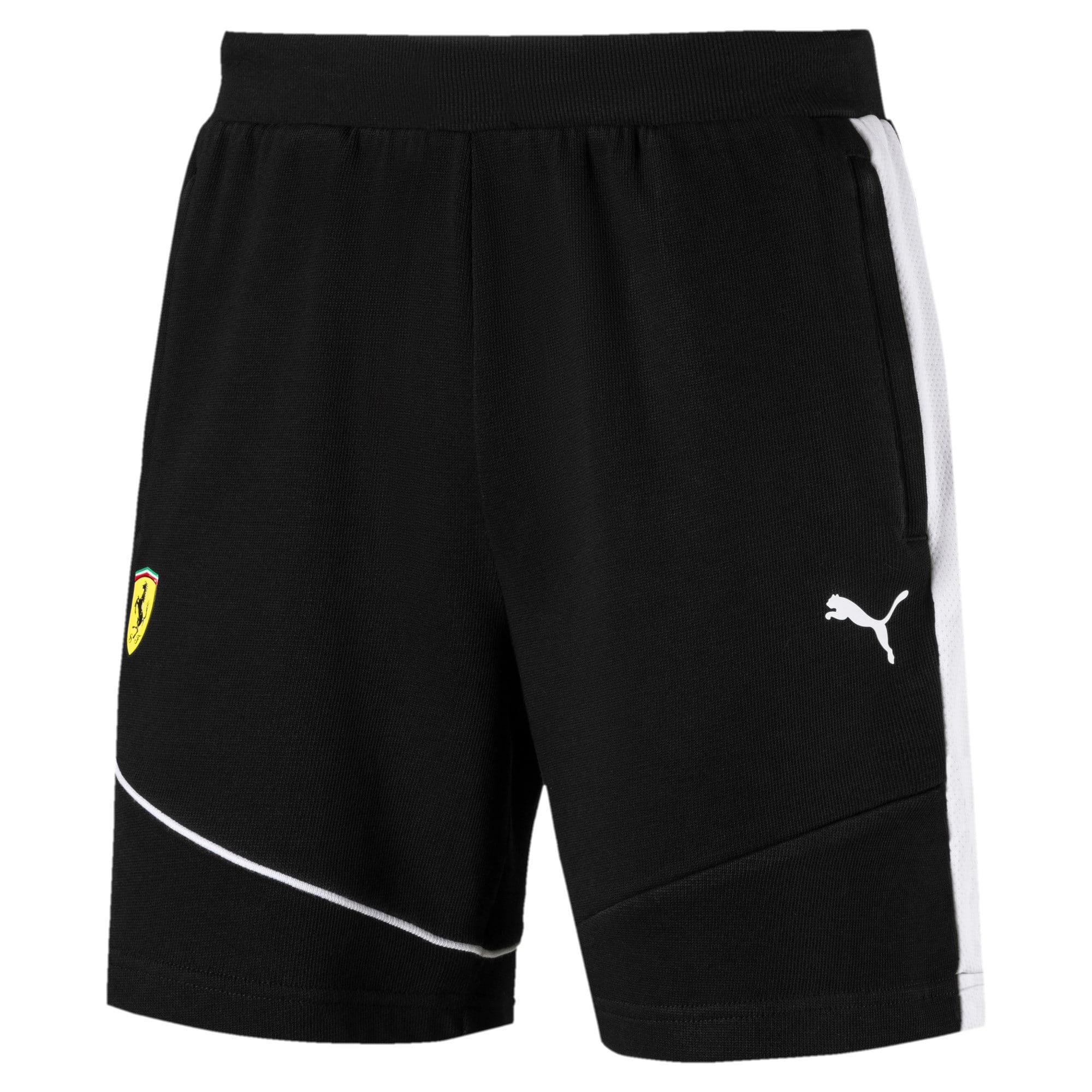 Thumbnail 2 of Ferrari Men's Sweat Shorts, Puma Black, medium-IND