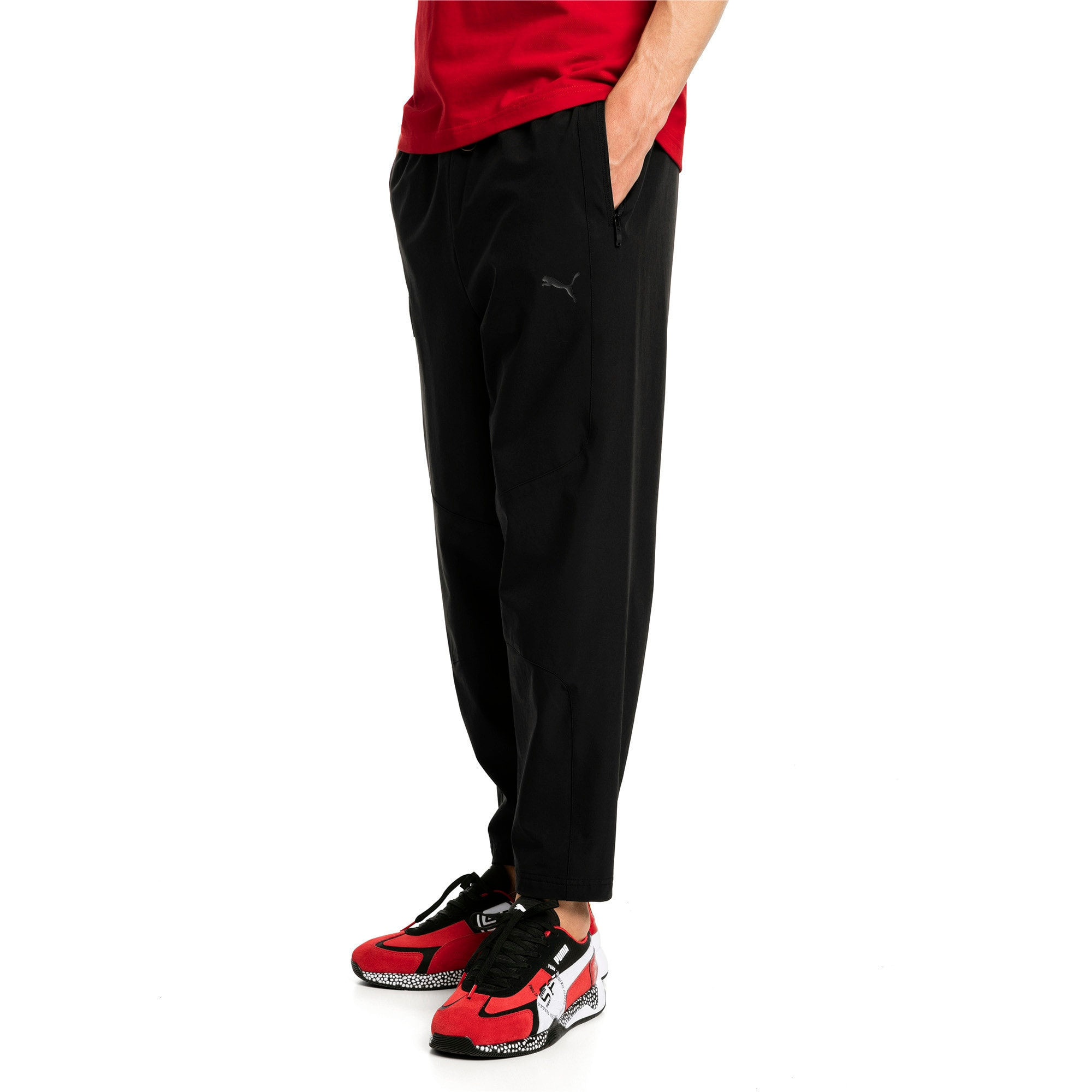 Thumbnail 1 of Scuderia Ferrari Life Men's Sweatpants, Puma Black, medium