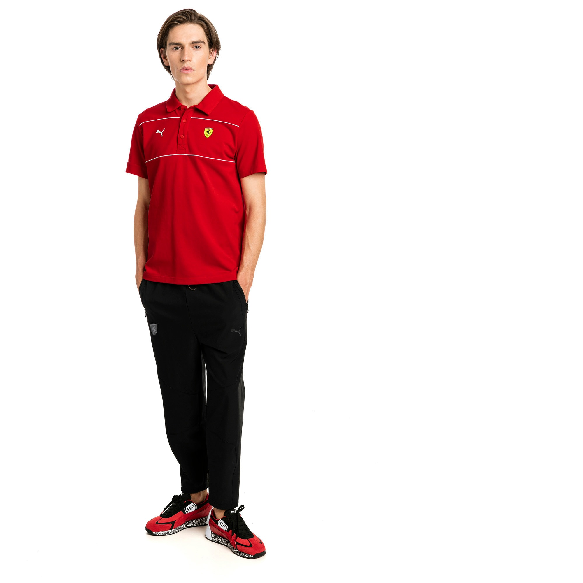 Thumbnail 3 of Scuderia Ferrari Life Men's Sweatpants, Puma Black, medium