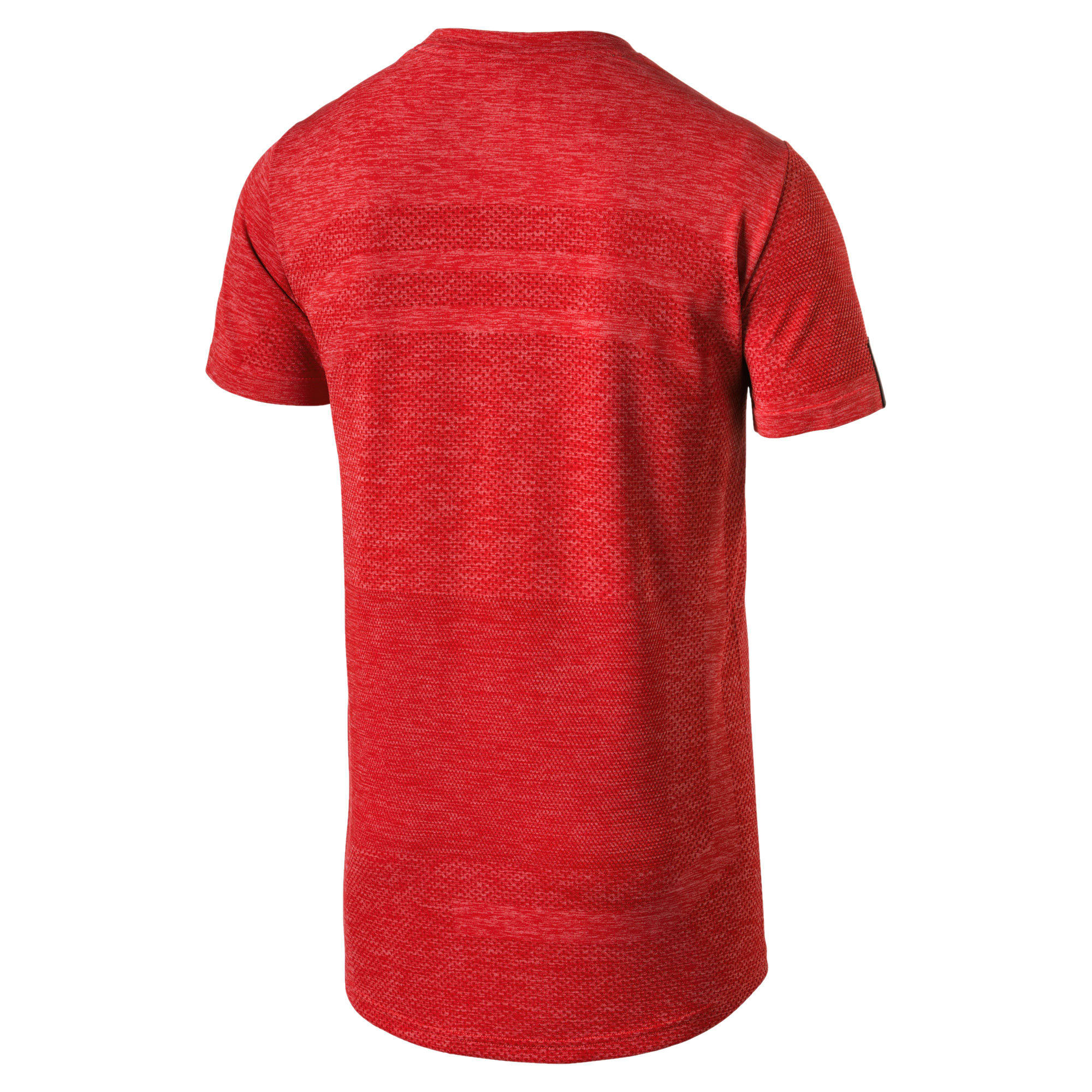 Thumbnail 3 of Ferrari evoKNIT Short Sleeve Men's Tee, Rosso Corsa, medium-IND