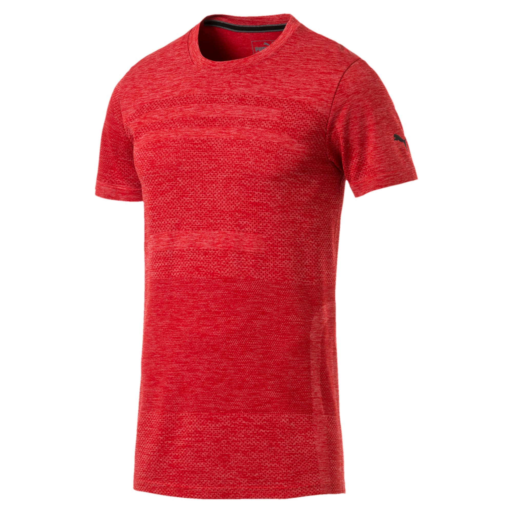 Thumbnail 4 of Ferrari evoKNIT Short Sleeve Men's Tee, Rosso Corsa, medium-IND