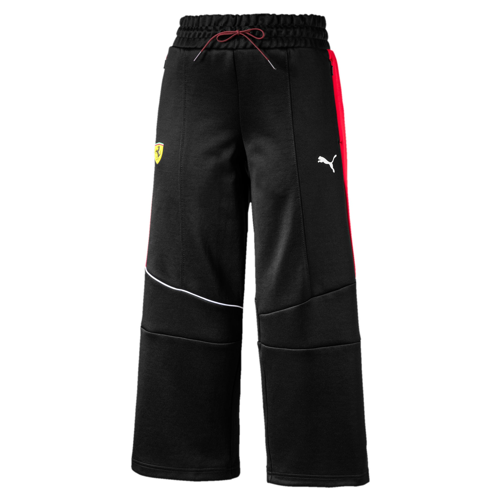 Thumbnail 1 of SF Wmn Track Pants, Puma Black, medium-IND