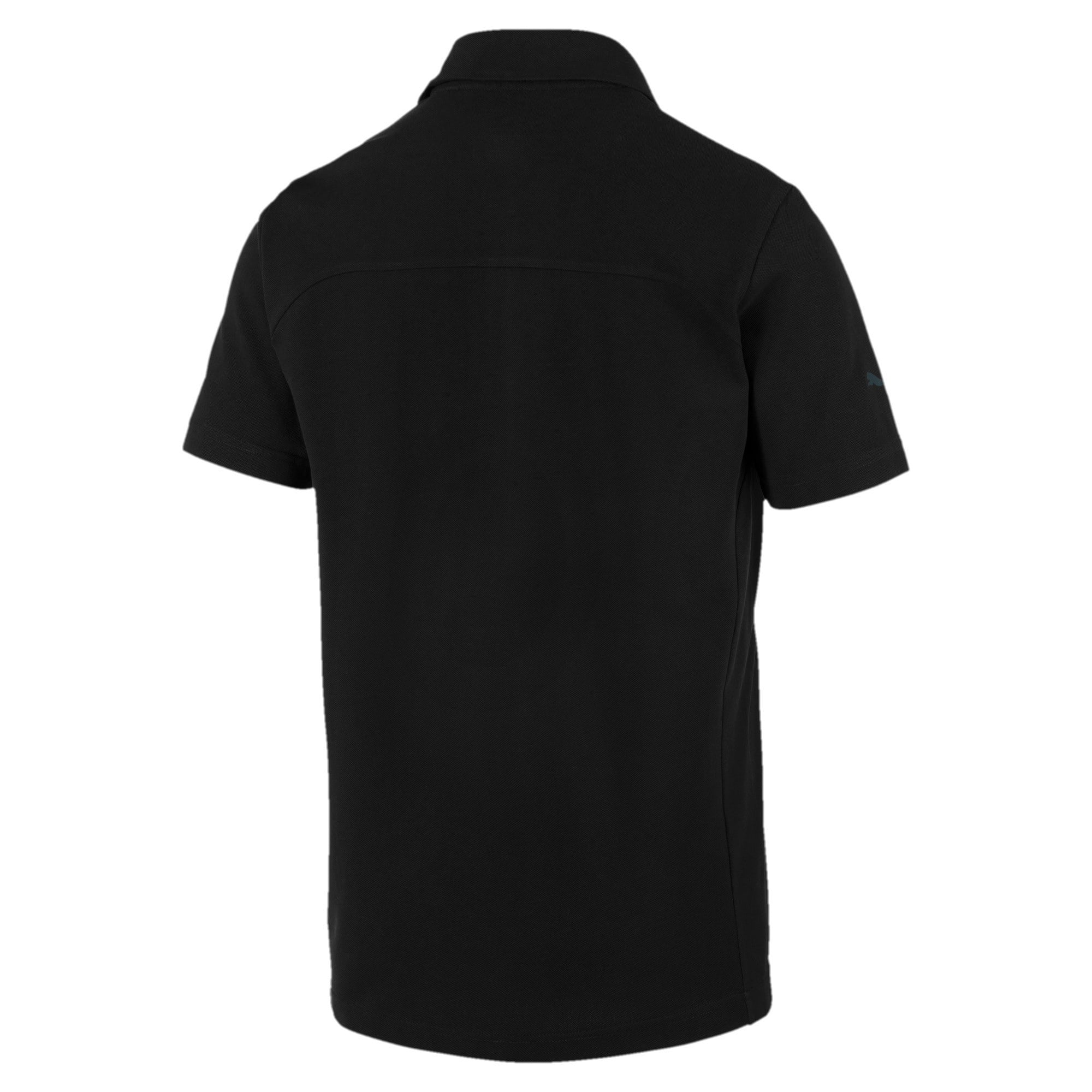 Thumbnail 2 of Ferrari Men's Polo Shirt, Puma Black, medium-IND