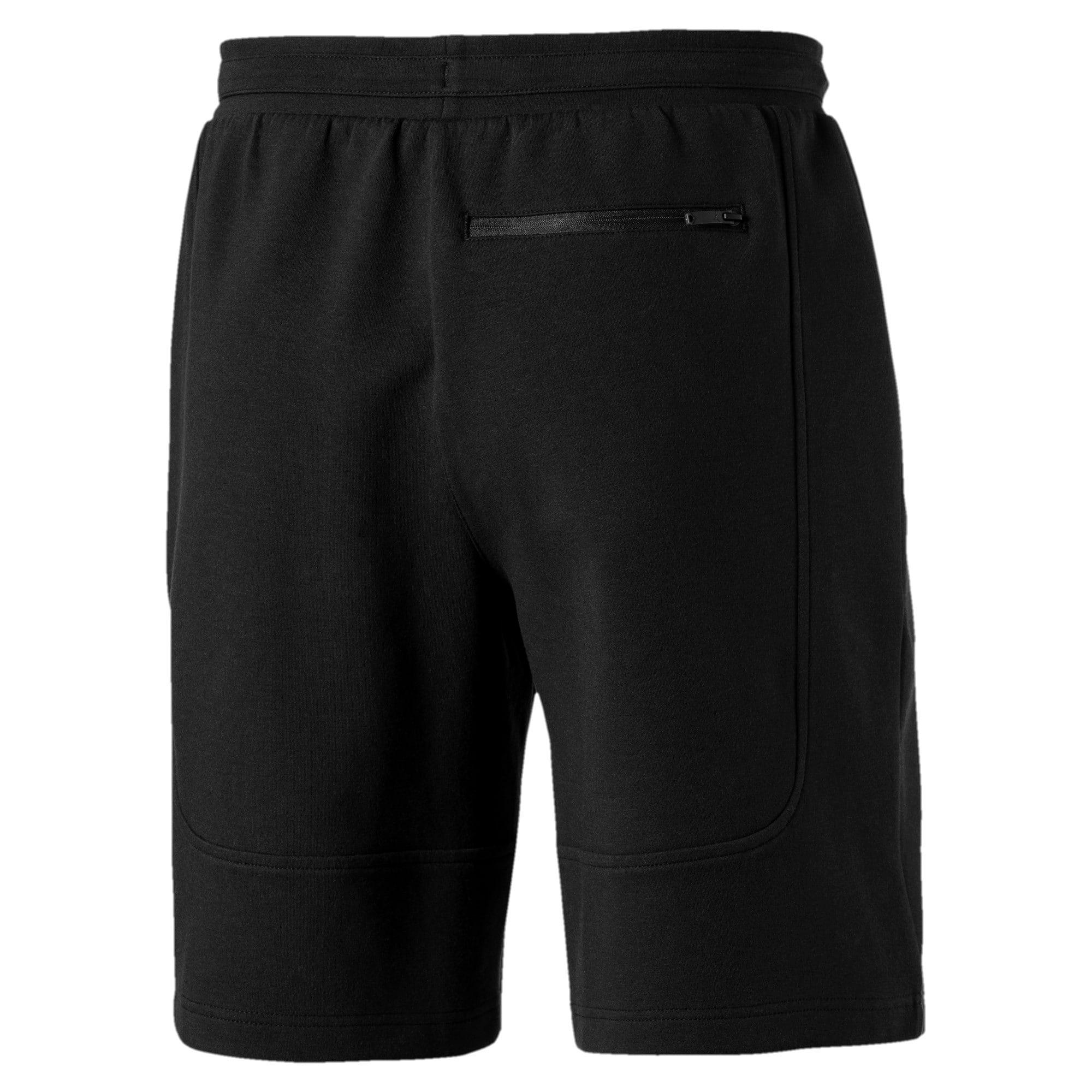 Thumbnail 3 of Ferrari Knitted Men's Shorts, Puma Black, medium-IND