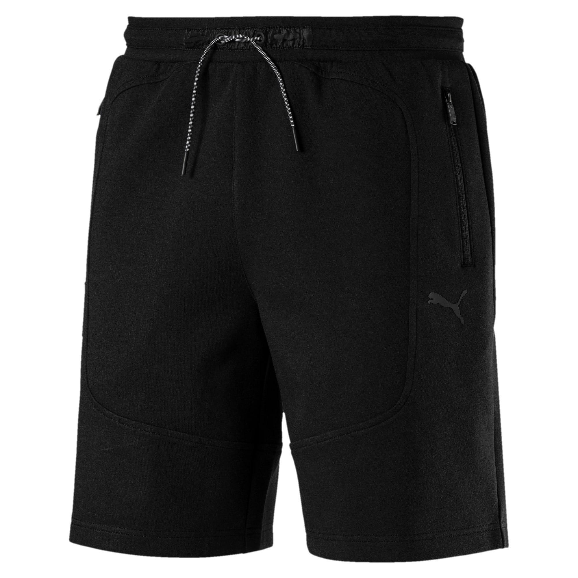 Thumbnail 2 of Ferrari Knitted Men's Shorts, Puma Black, medium-IND