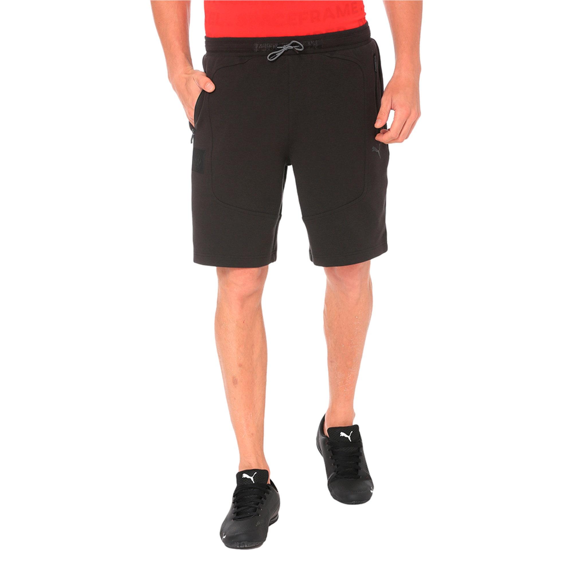Thumbnail 1 of Ferrari Knitted Men's Shorts, Puma Black, medium-IND