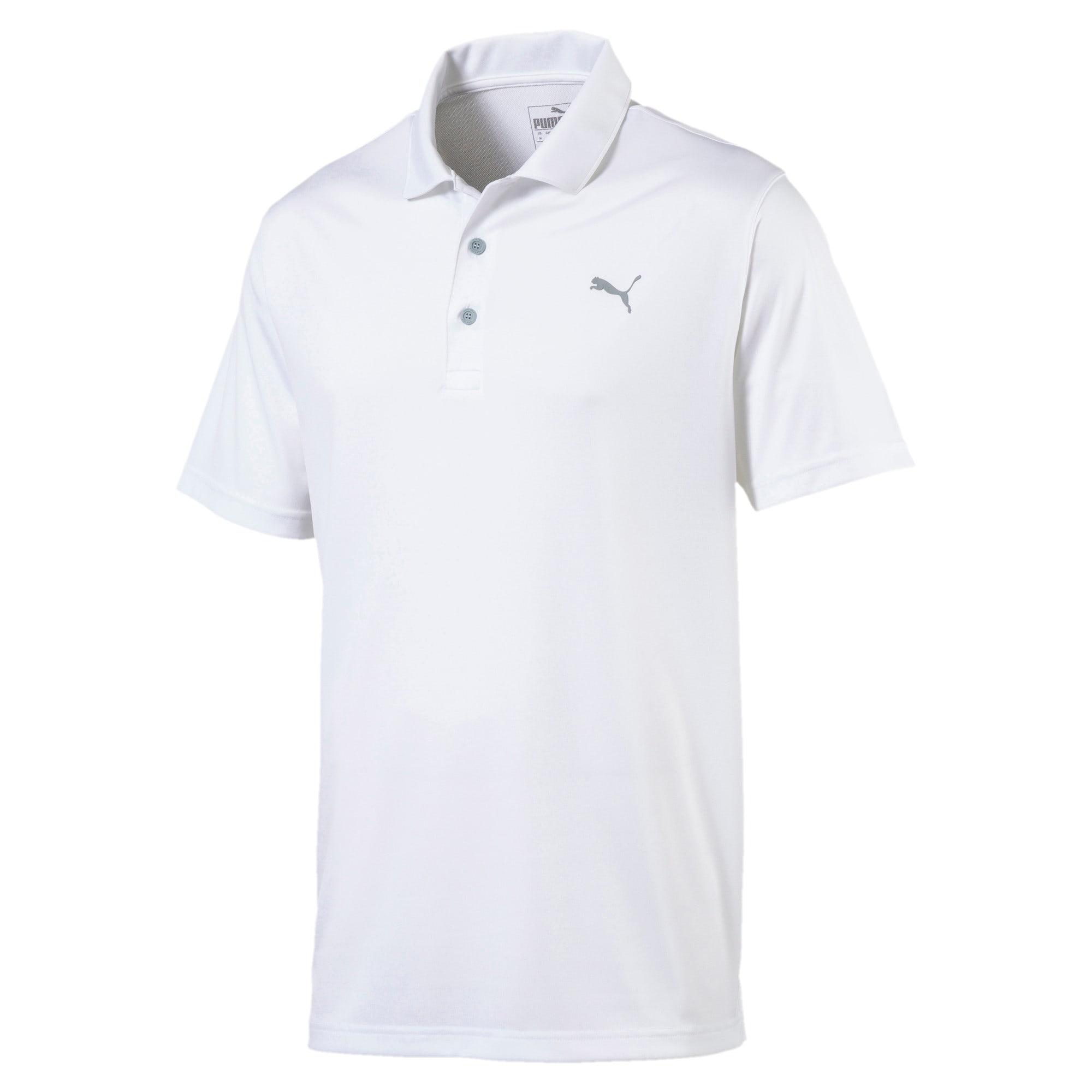 Thumbnail 4 of Polo de golf Rotation pour homme, Bright White, medium