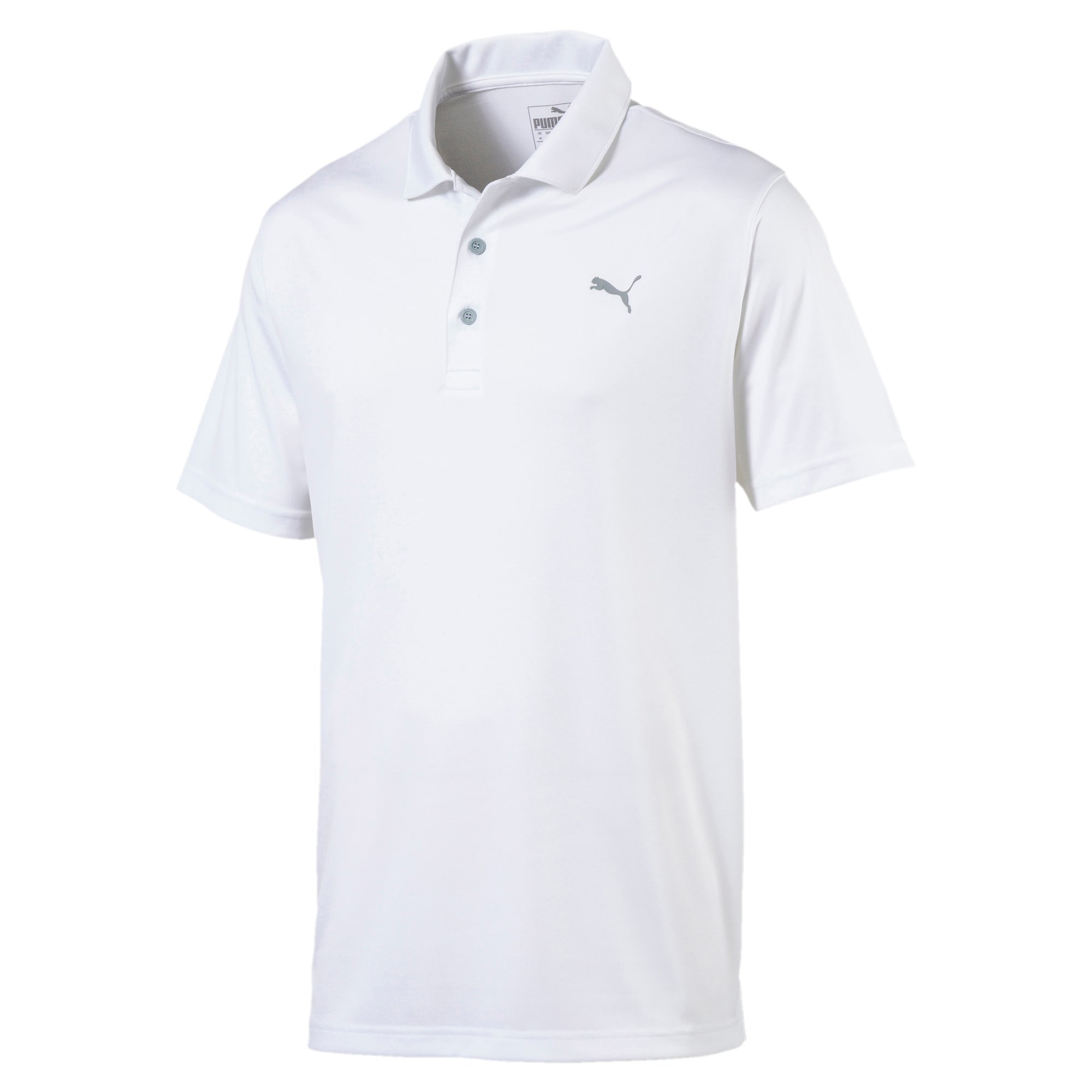 Thumbnail 4 of Rotation Herren Golf Polo, Bright White, medium
