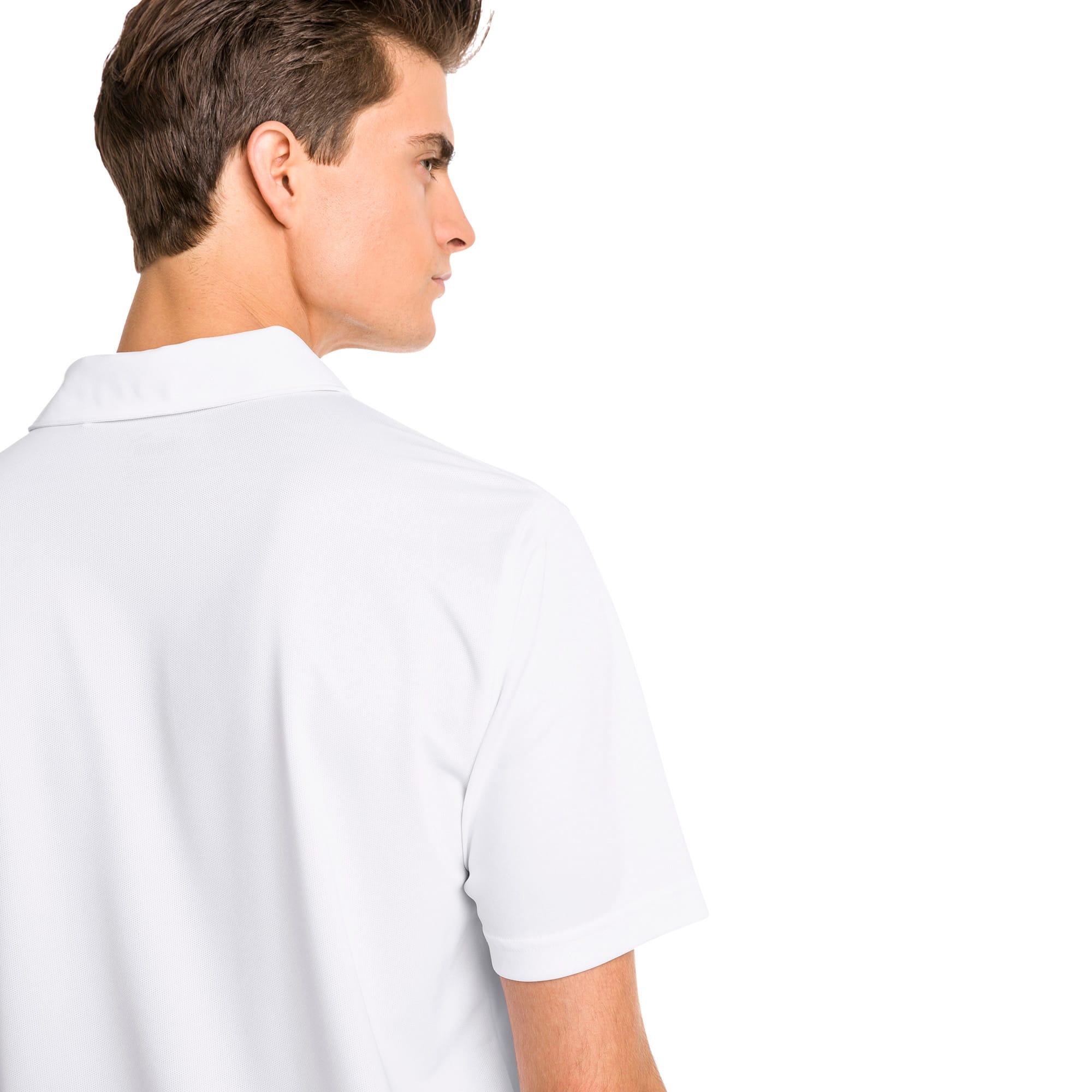 Thumbnail 2 of Polo de golf Rotation pour homme, Bright White, medium