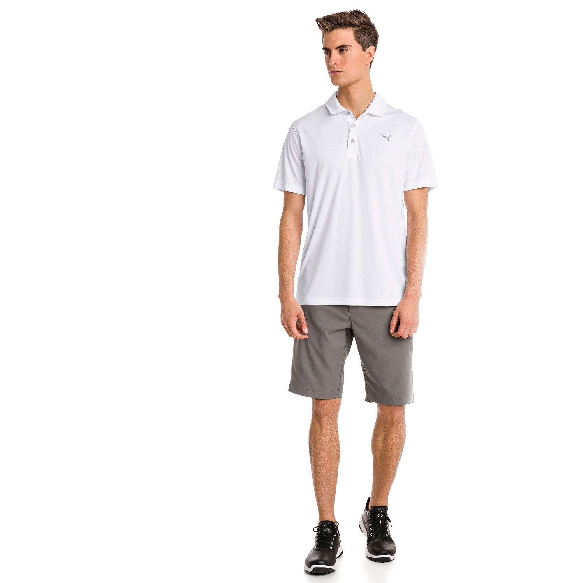 Thumbnail 3 of Polo de golf Rotation pour homme, Bright White, medium