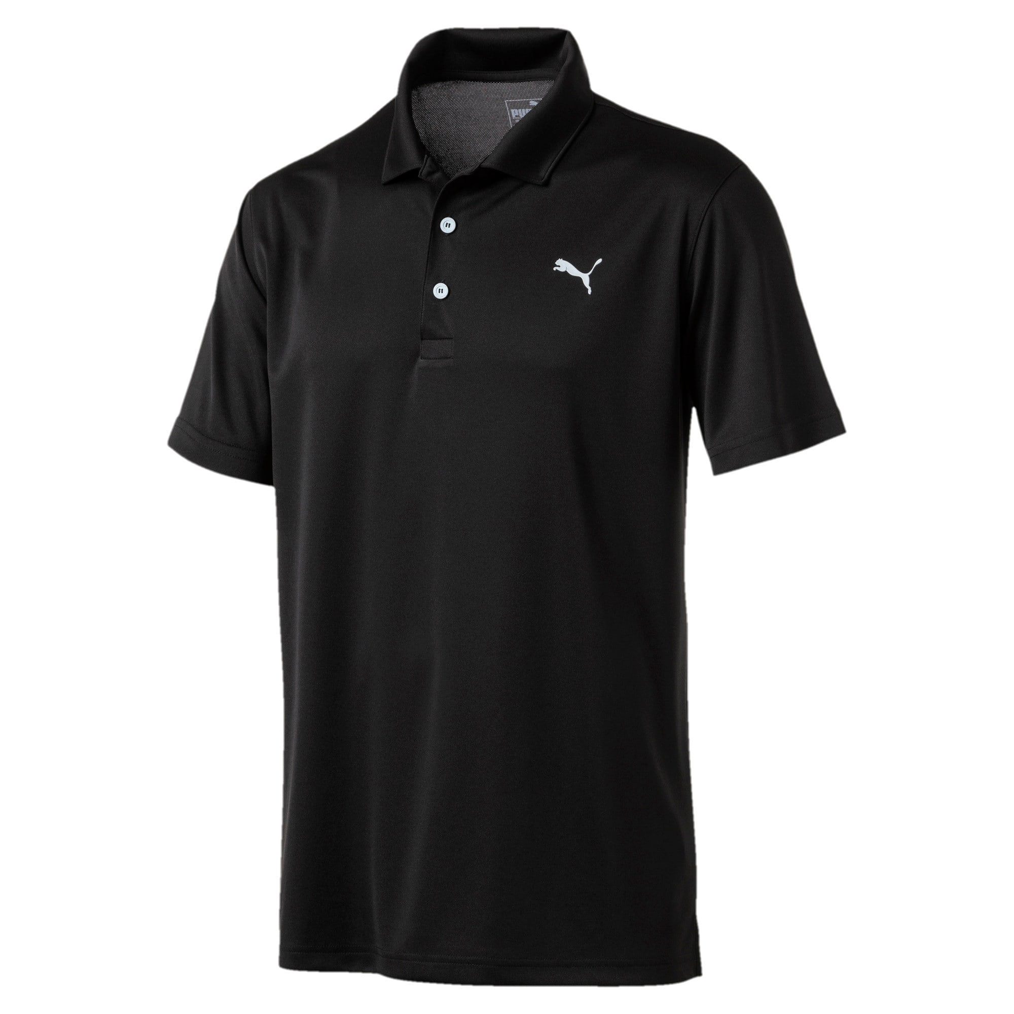 Thumbnail 4 of Rotation Herren Golf Polo, Puma Black, medium