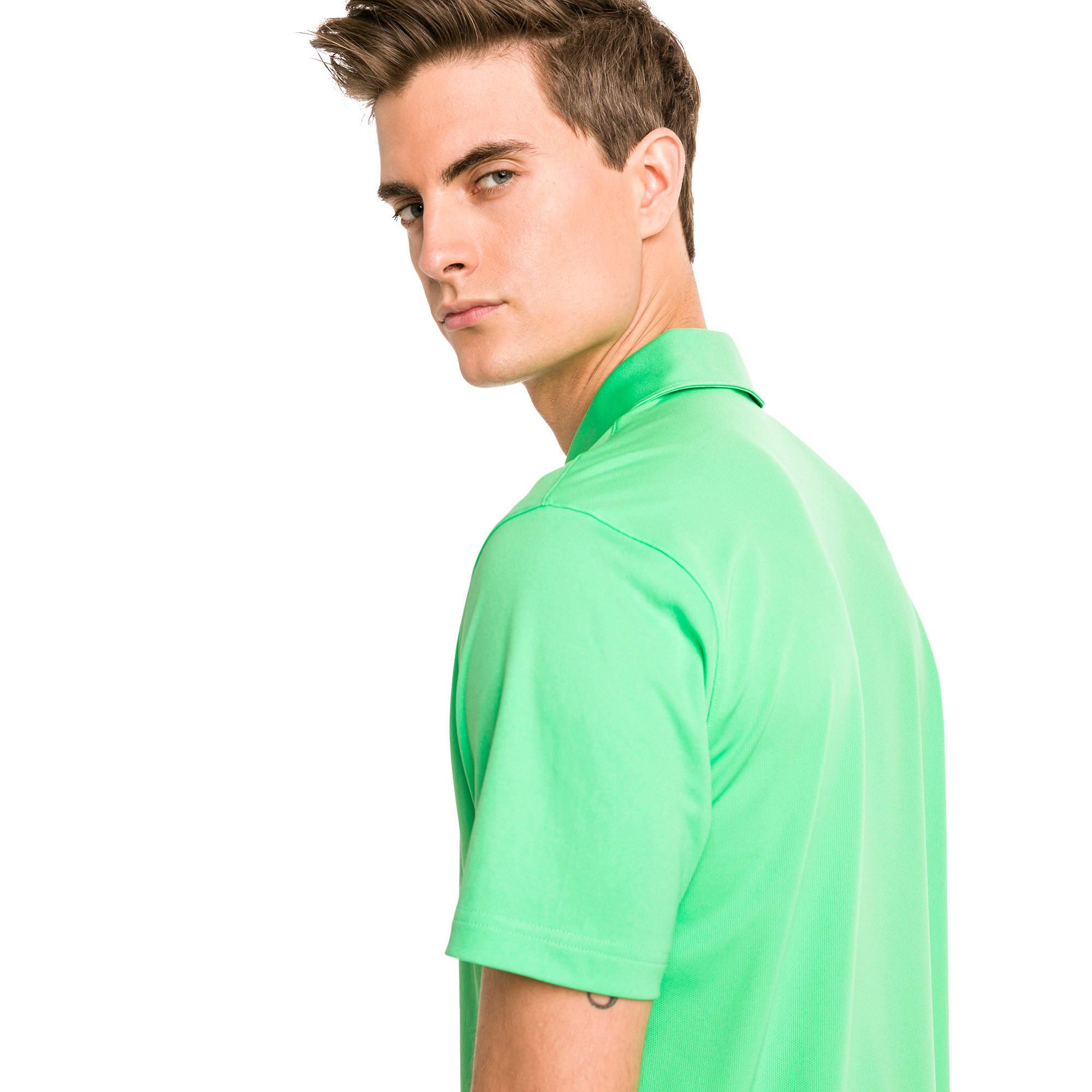 Thumbnail 2 of Rotation Golf poloshirt voor heren, Irish Green, medium