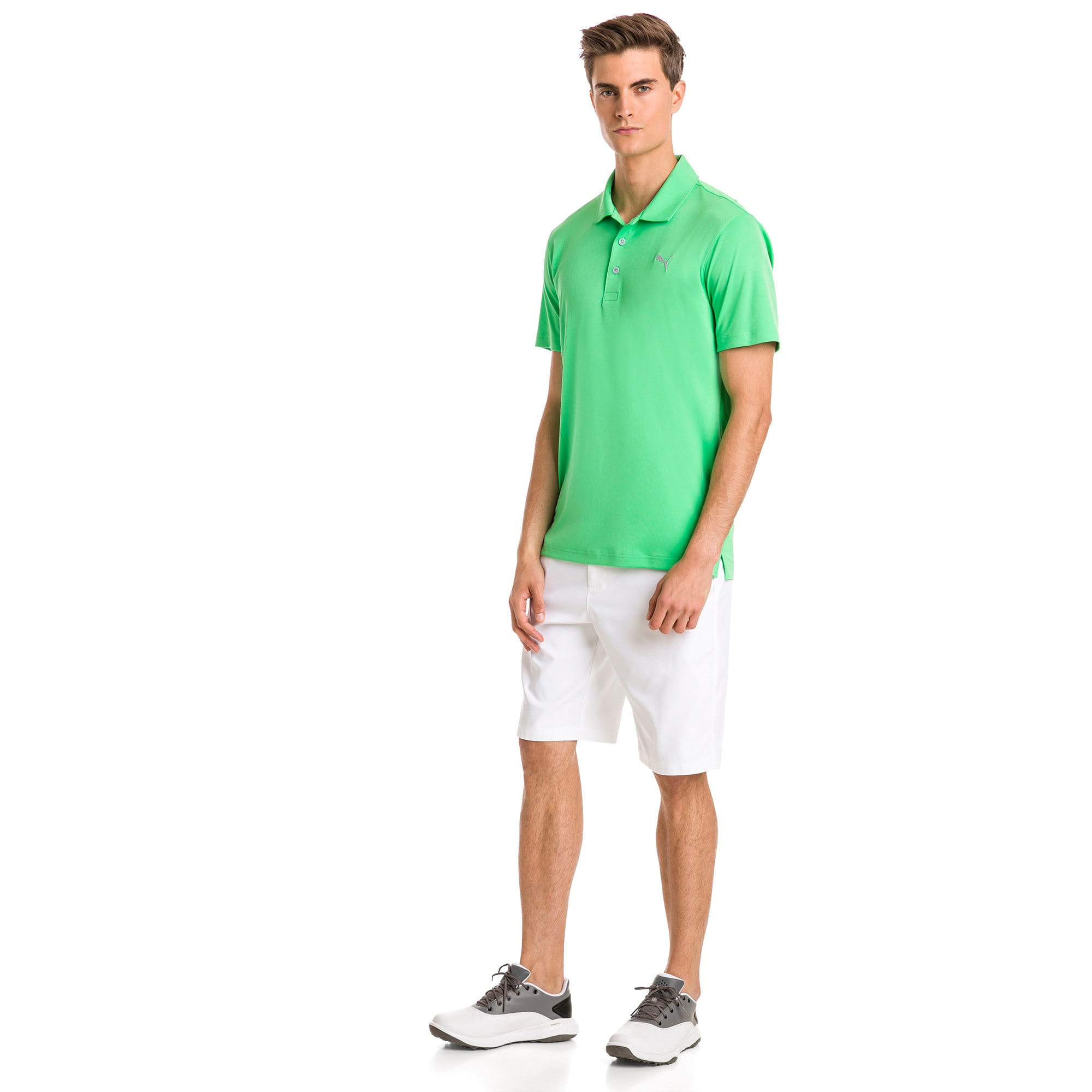 Thumbnail 3 of Rotation Golf poloshirt voor heren, Irish Green, medium