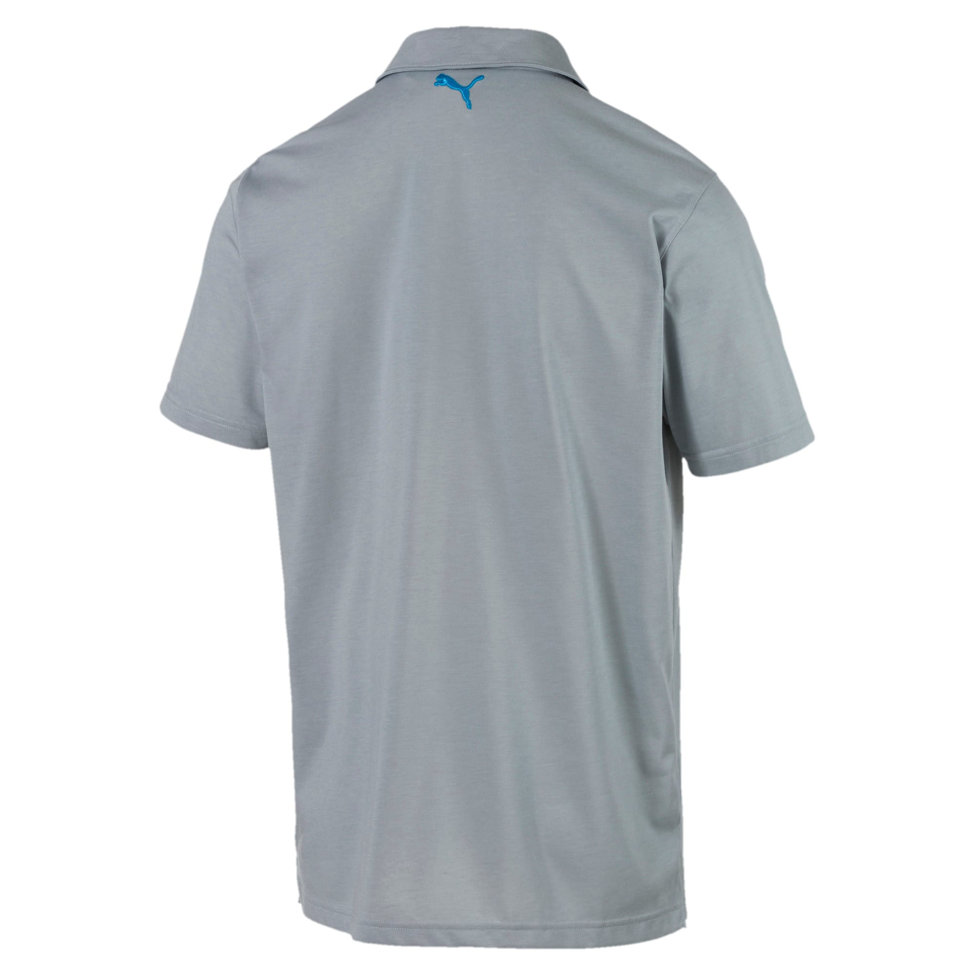 Thumbnail 2 of Faraday Men's Polo, Quarry, medium