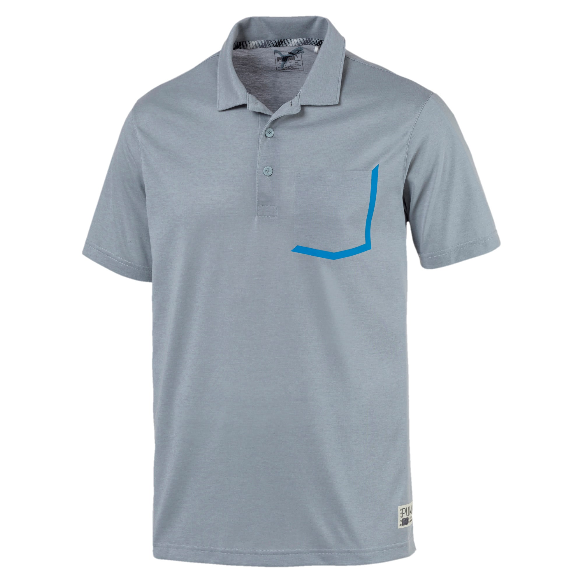 Thumbnail 1 of Faraday Men's Polo, Quarry, medium