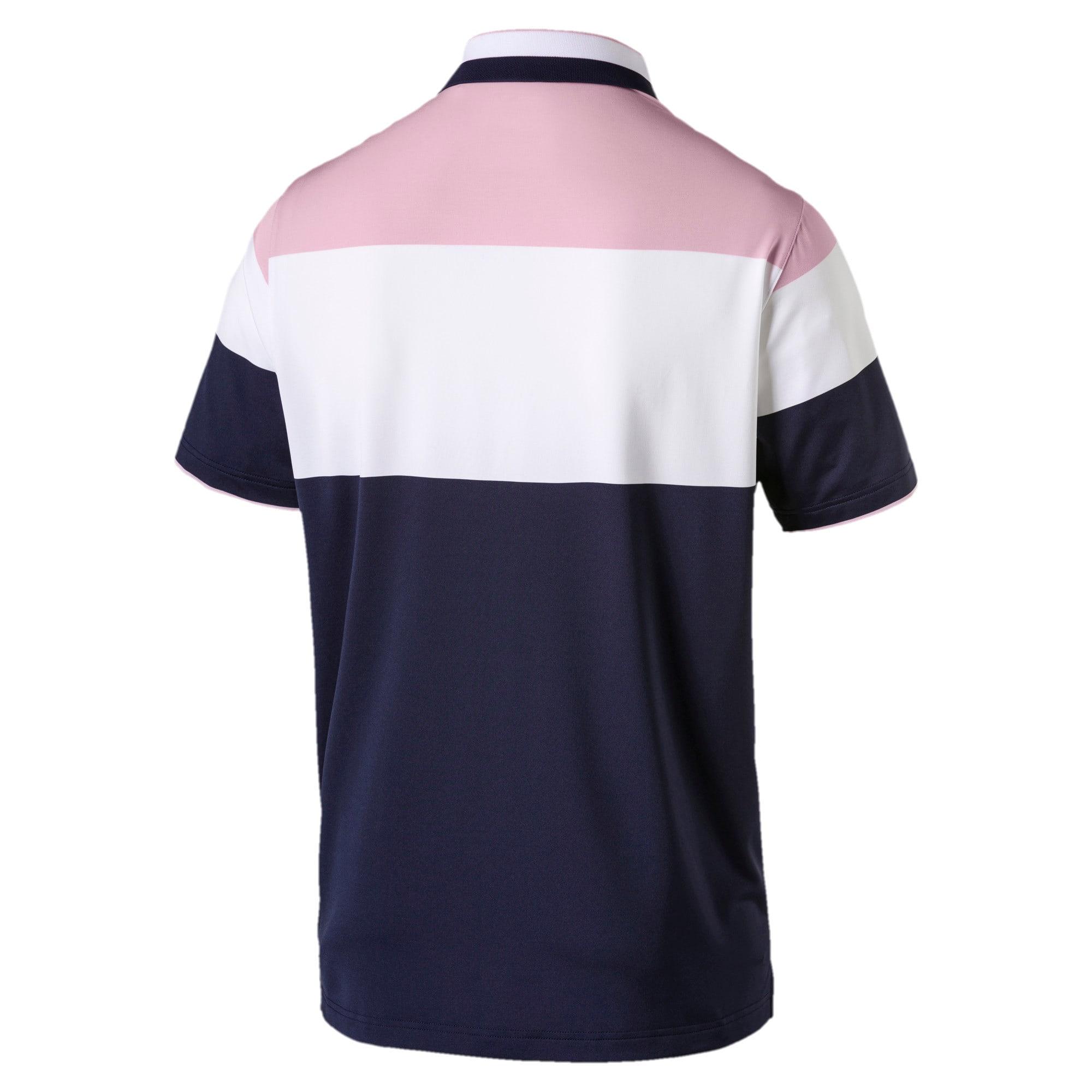 Thumbnail 5 of Nineties Men's Golf Polo, Pale Pink, medium
