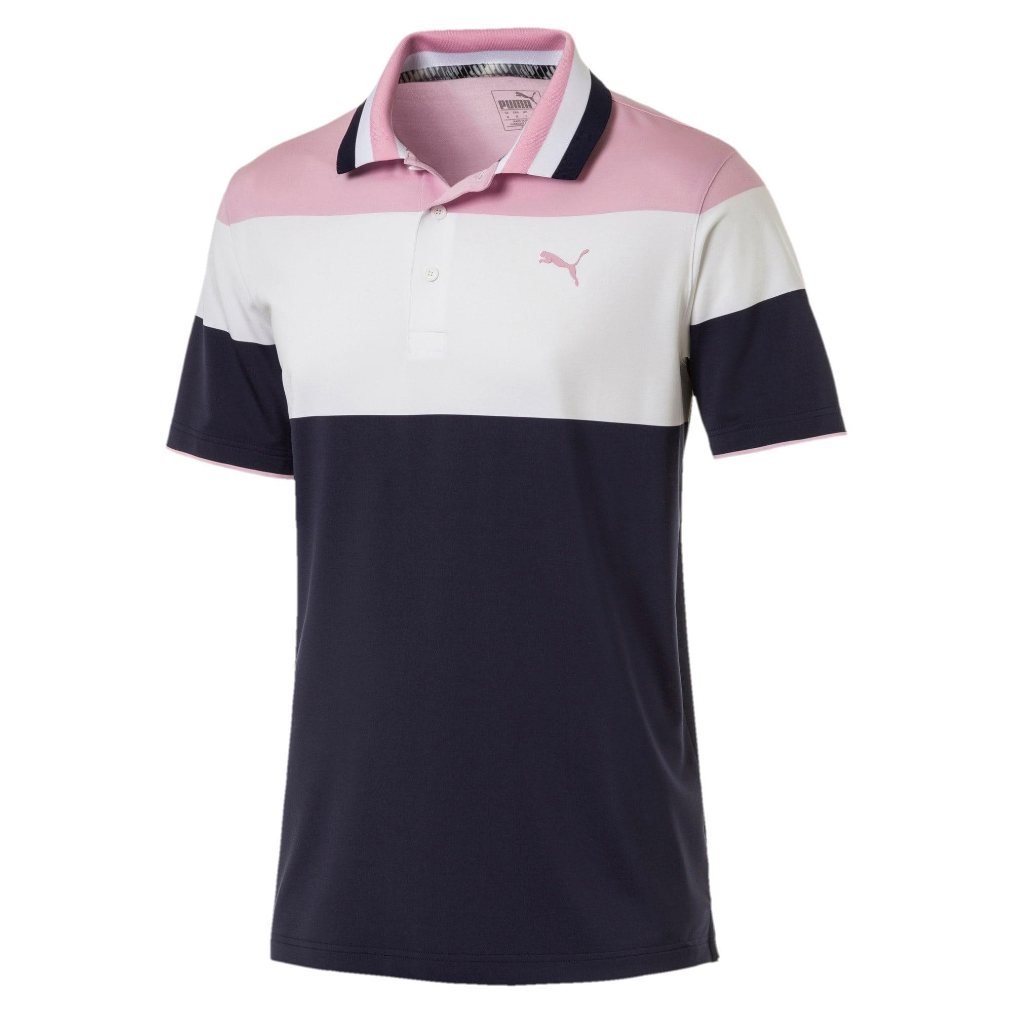 Thumbnail 4 of Nineties Men's Golf Polo, Pale Pink, medium