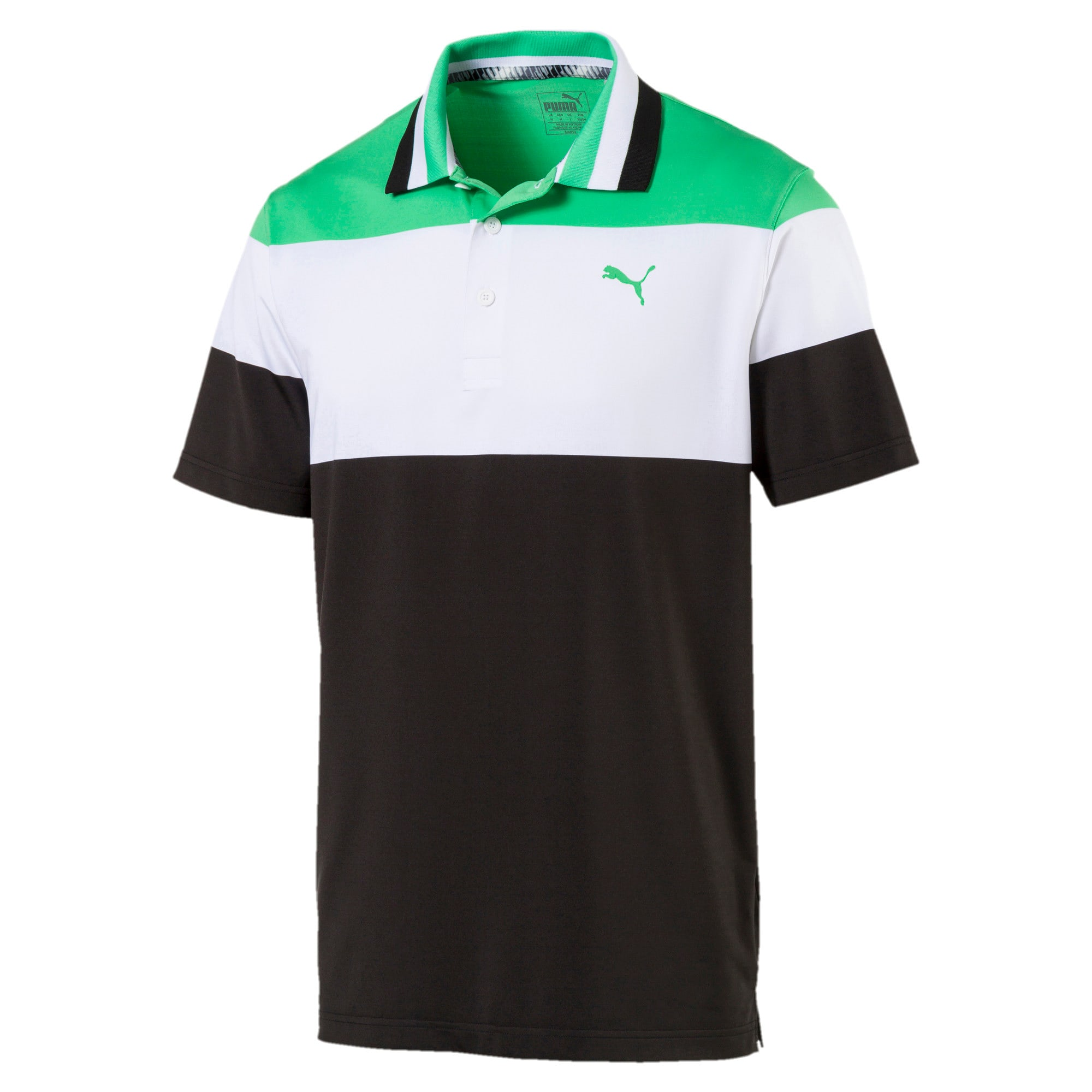 Thumbnail 4 of Polo de golf Nineties pour homme, Irish Green, medium