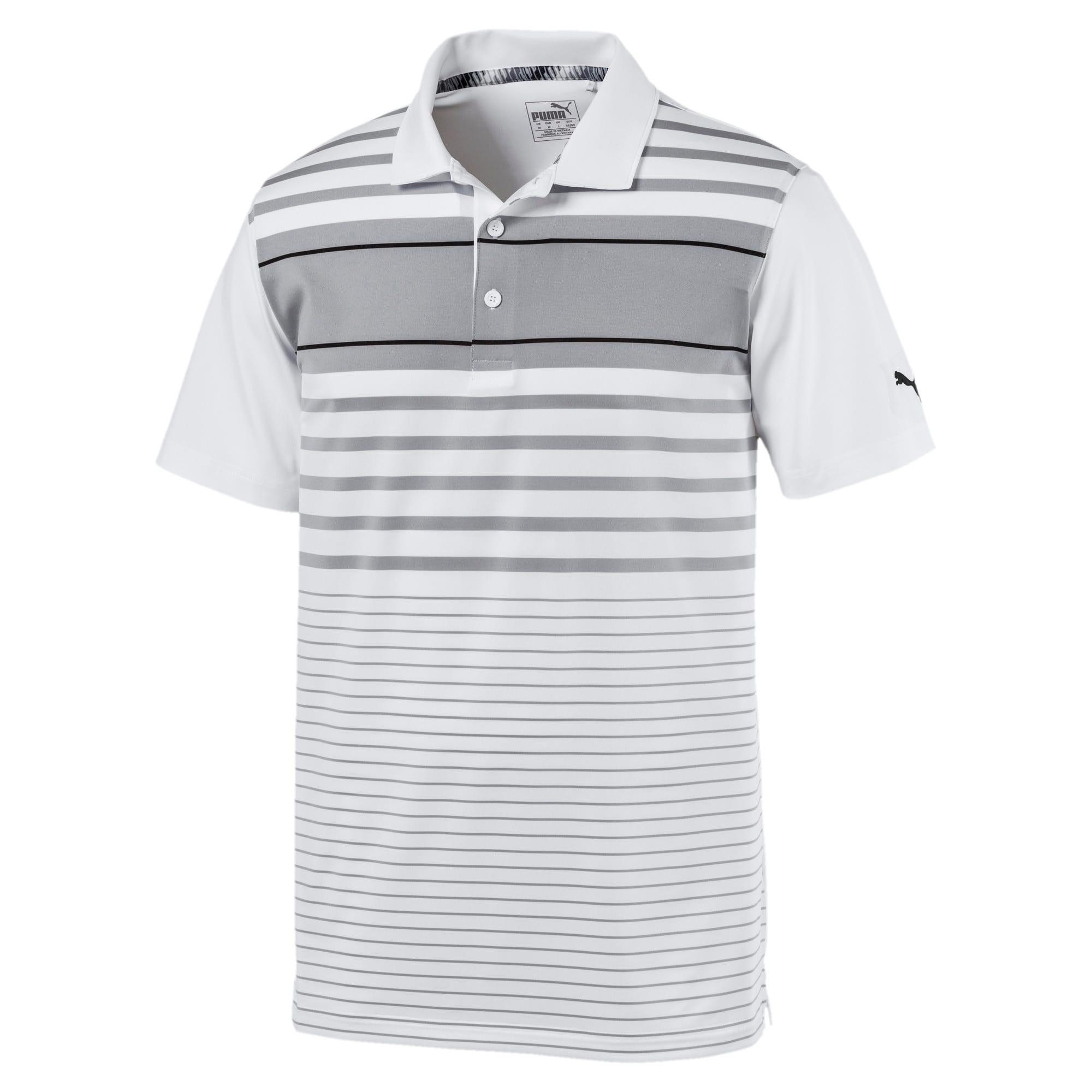 Miniatura 1 de Camiseta tipo polo Spotlight para hombre, quarry-puma black, mediano