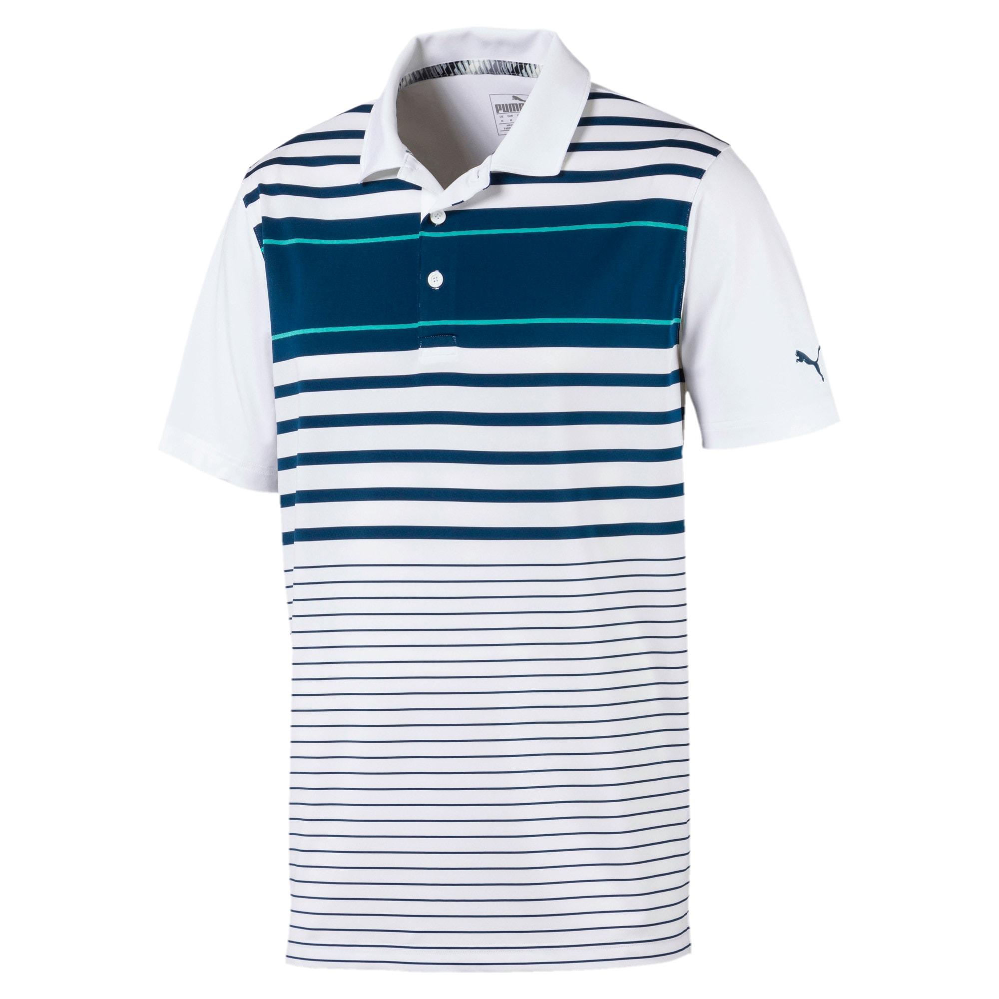 Miniatura 1 de Camiseta tipo polo Spotlight para hombre, Gibraltar Sea-Blue Turquoise, mediano