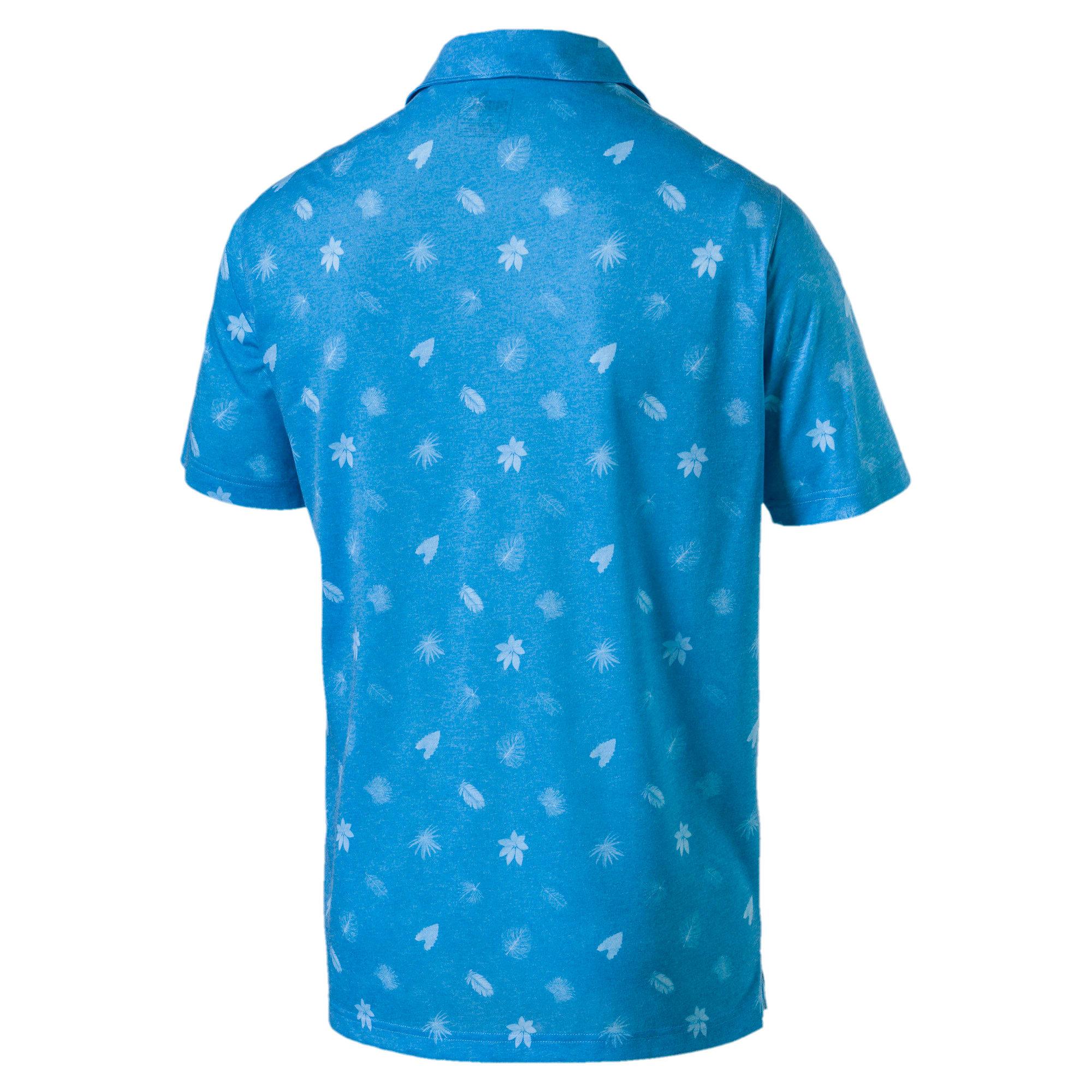 Thumbnail 5 of Polo de golf Verdant pour homme, Bleu Azur, medium