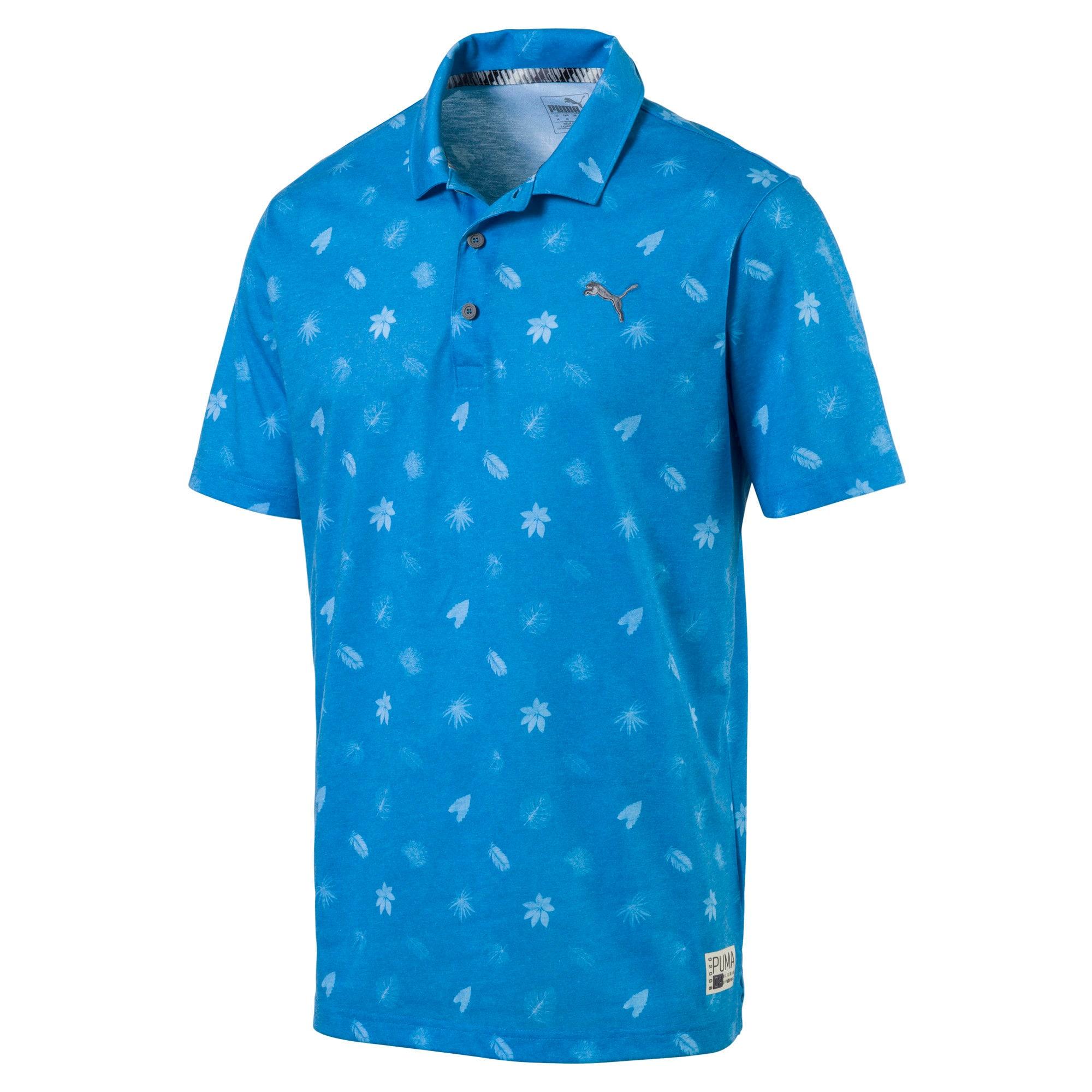 Thumbnail 4 of Polo de golf Verdant pour homme, Bleu Azur, medium