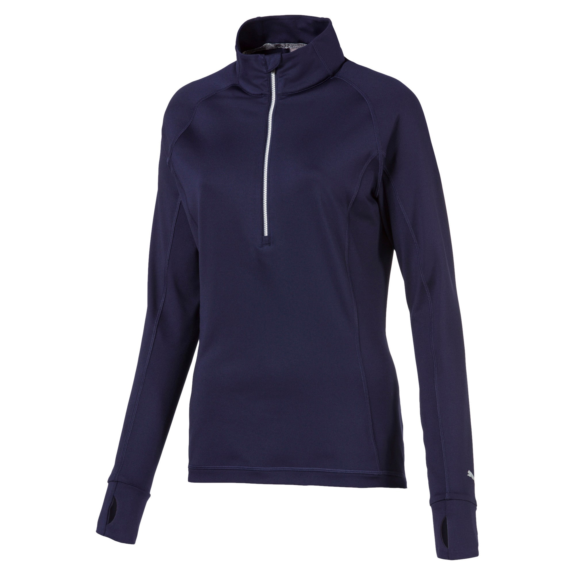 Thumbnail 1 of Rotation 1/4 Zip Women's Golf Pullover, Peacoat, medium