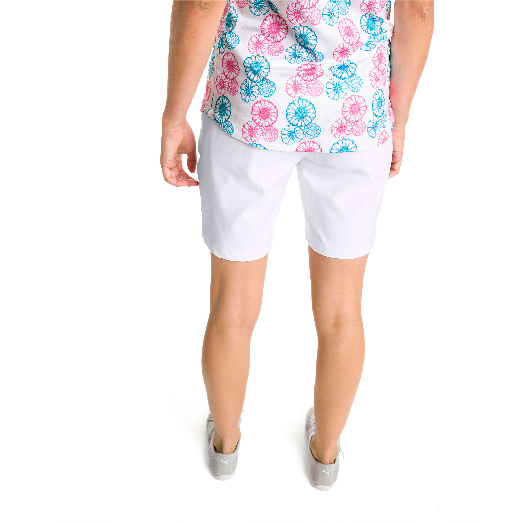 Thumbnail 2 of Pounce Women's Golf Bermudas, Bright White, medium