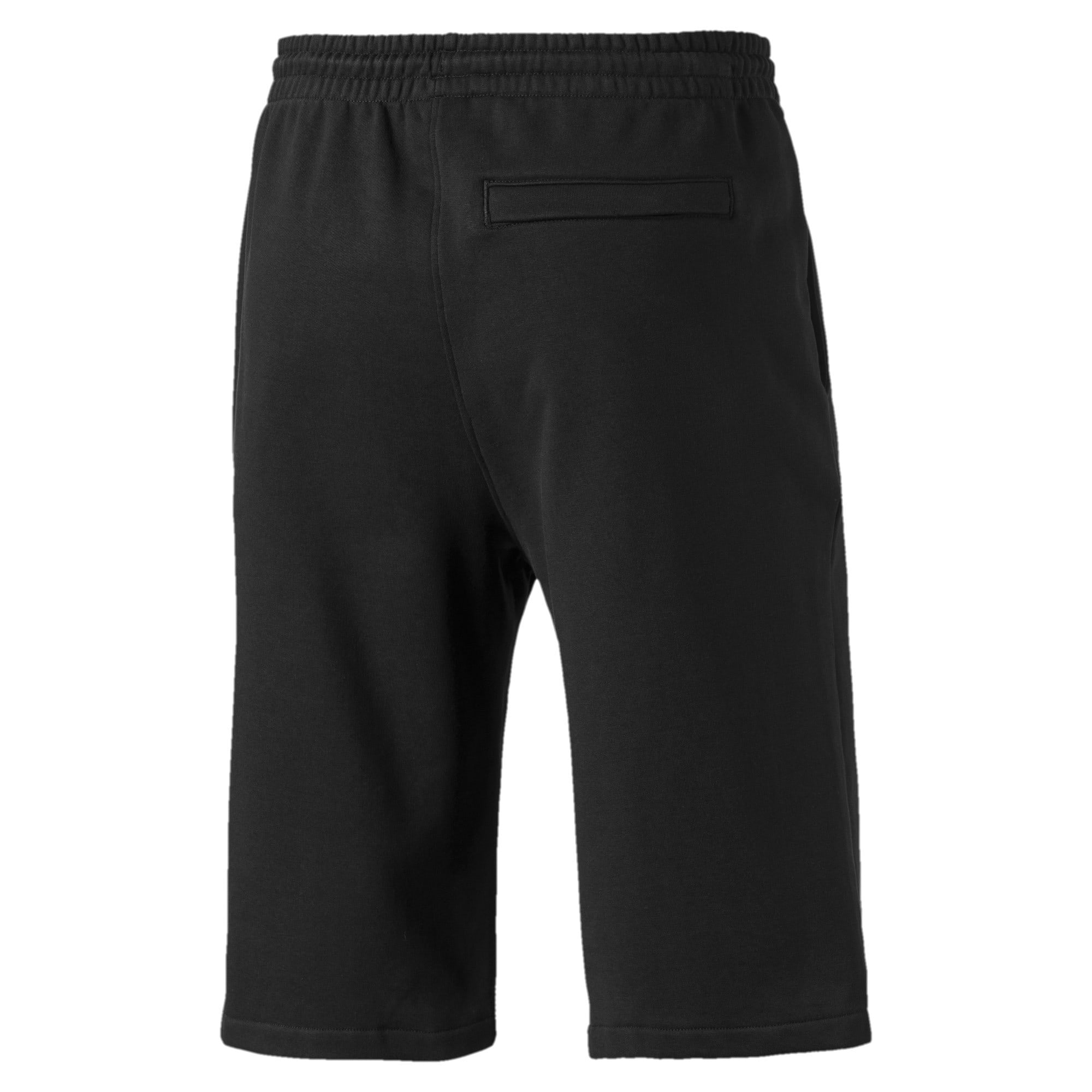 "Thumbnail 5 of Classics Logo 12"" Men's Shorts, Cotton Black, medium-IND"