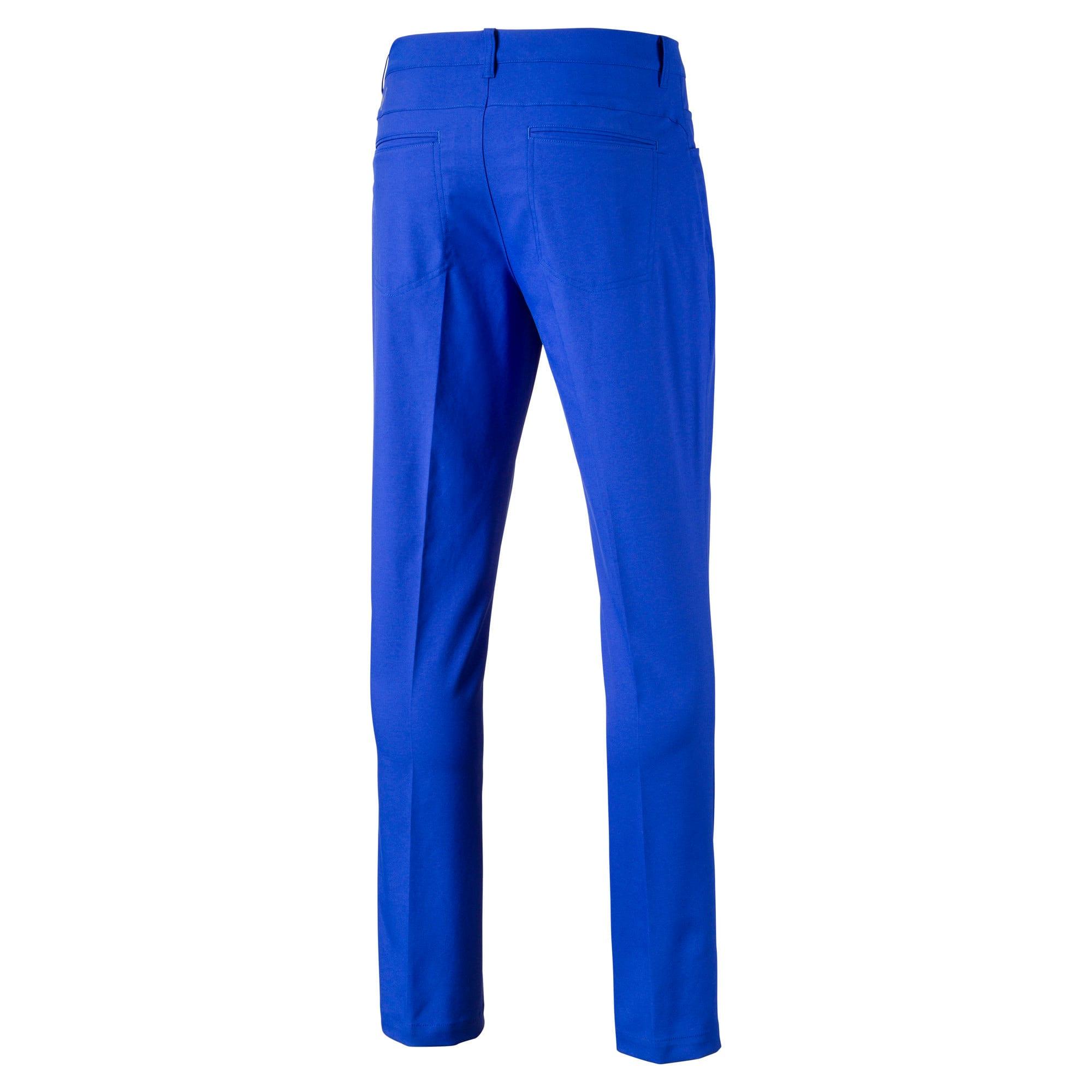 Thumbnail 5 of Geweven Jackpot golfbroek met 5 zakken voor heren, Dazzling Blue, medium