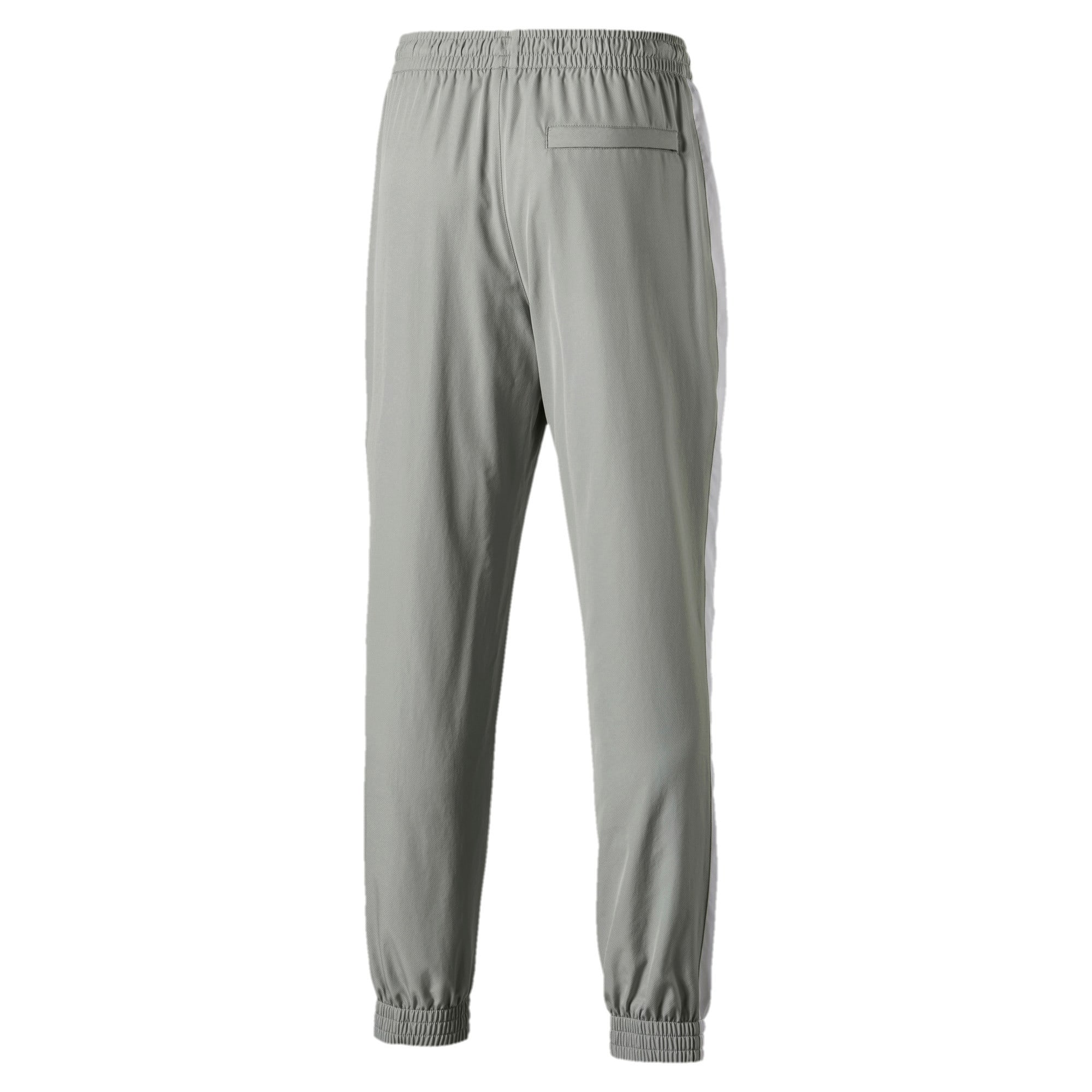 Thumbnail 5 of Iconic T7 Woven Men's Sweatpants, Limestone, medium-IND
